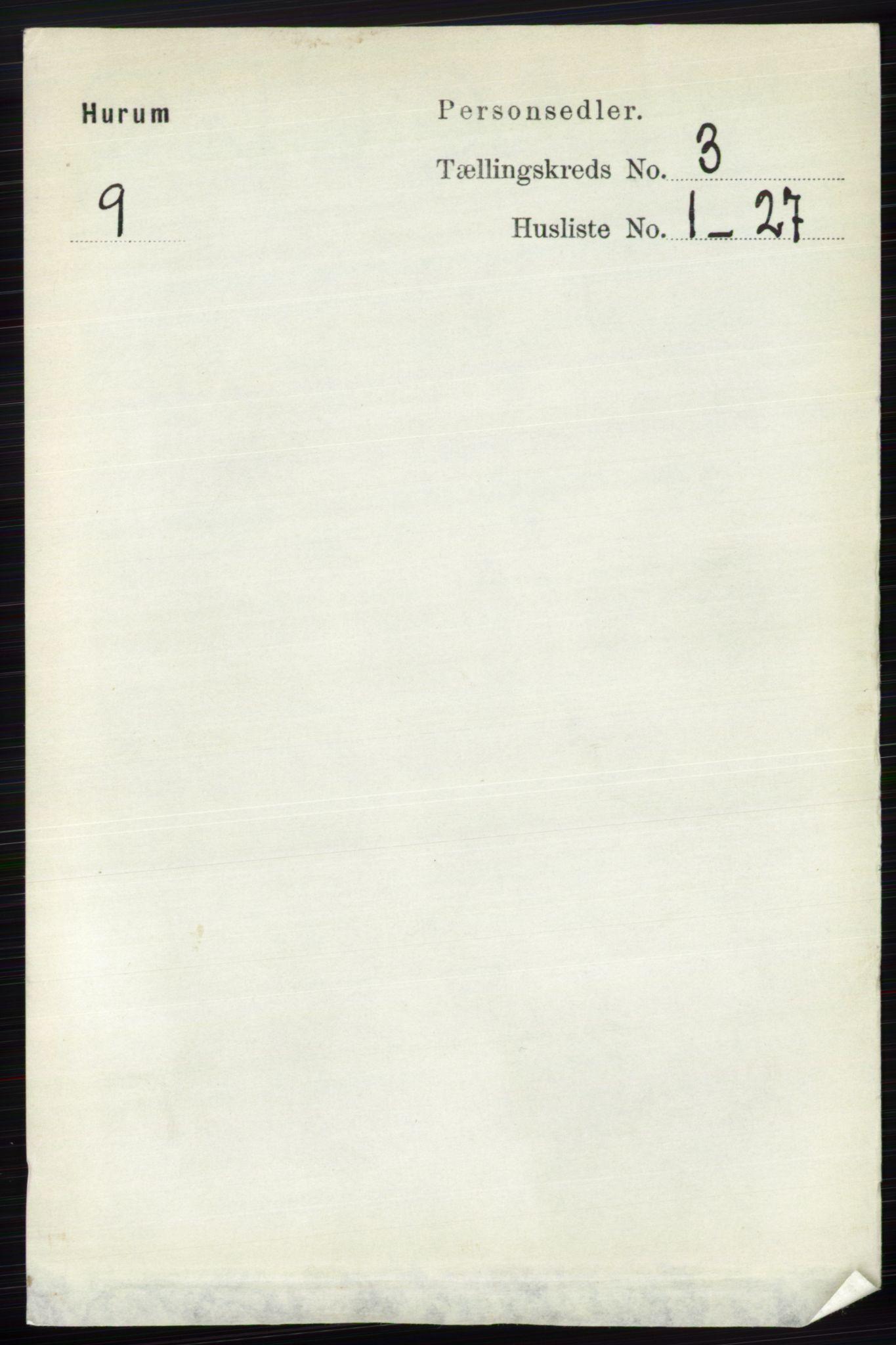 RA, Folketelling 1891 for 0628 Hurum herred, 1891, s. 948