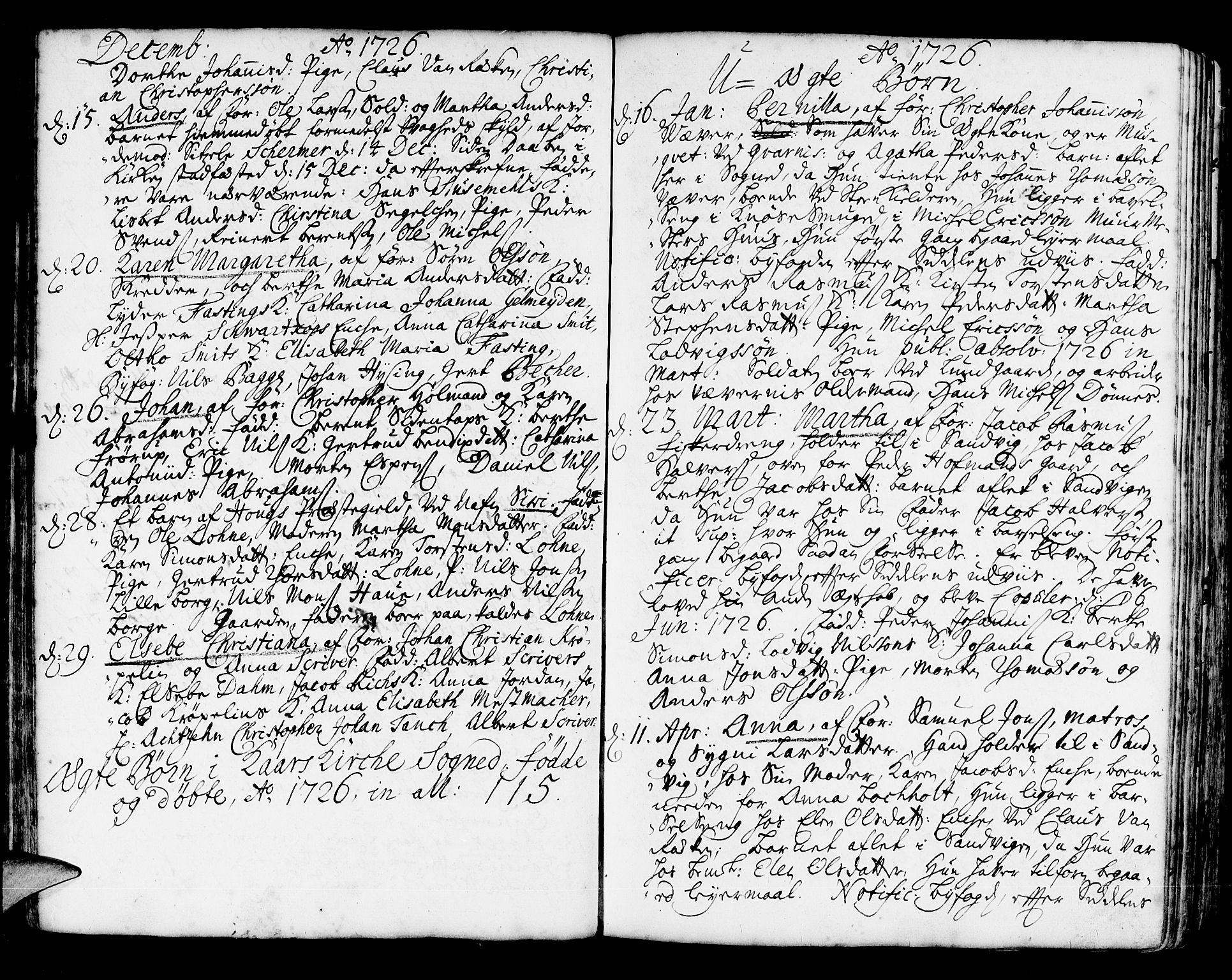 SAB, Korskirken Sokneprestembete, H/Haa/L0004: Ministerialbok nr. A 4, 1720-1750, s. 68