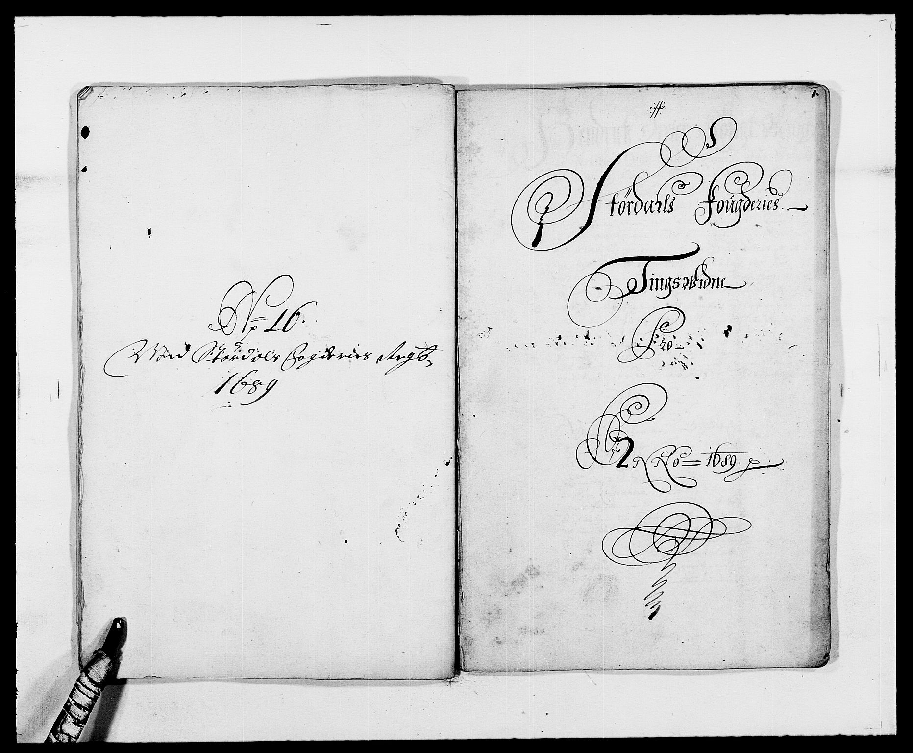 RA, Rentekammeret inntil 1814, Reviderte regnskaper, Fogderegnskap, R62/L4183: Fogderegnskap Stjørdal og Verdal, 1687-1689, s. 443