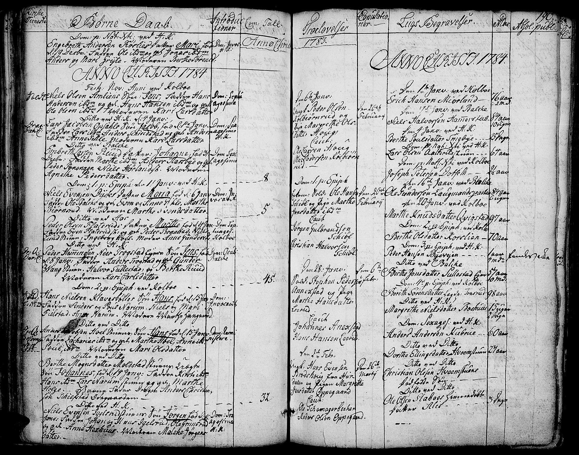 SAH, Toten prestekontor, Ministerialbok nr. 6, 1773-1793, s. 190