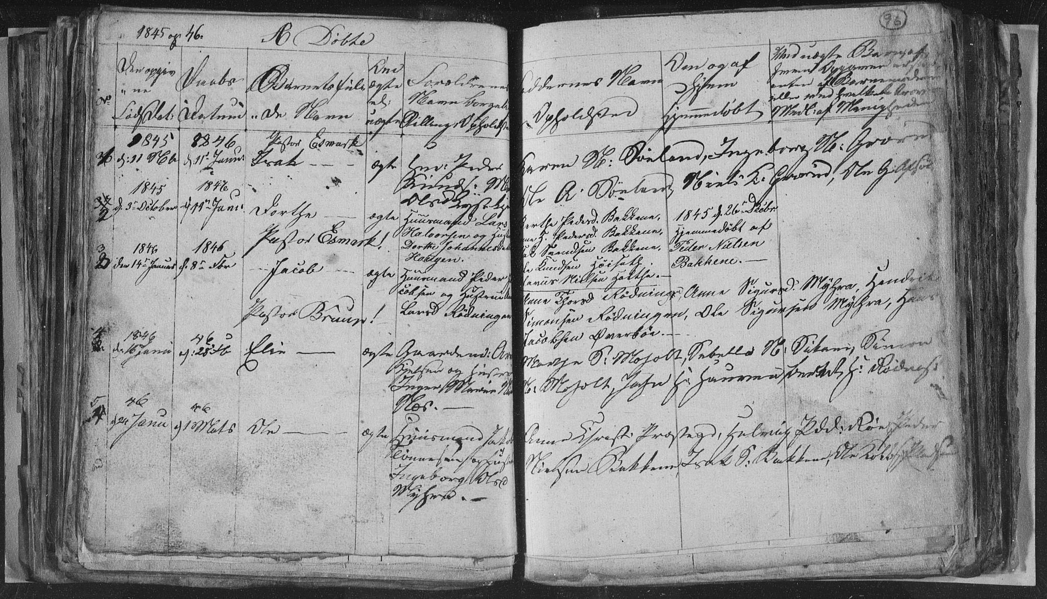 SAKO, Siljan kirkebøker, G/Ga/L0001: Klokkerbok nr. 1, 1827-1847, s. 96