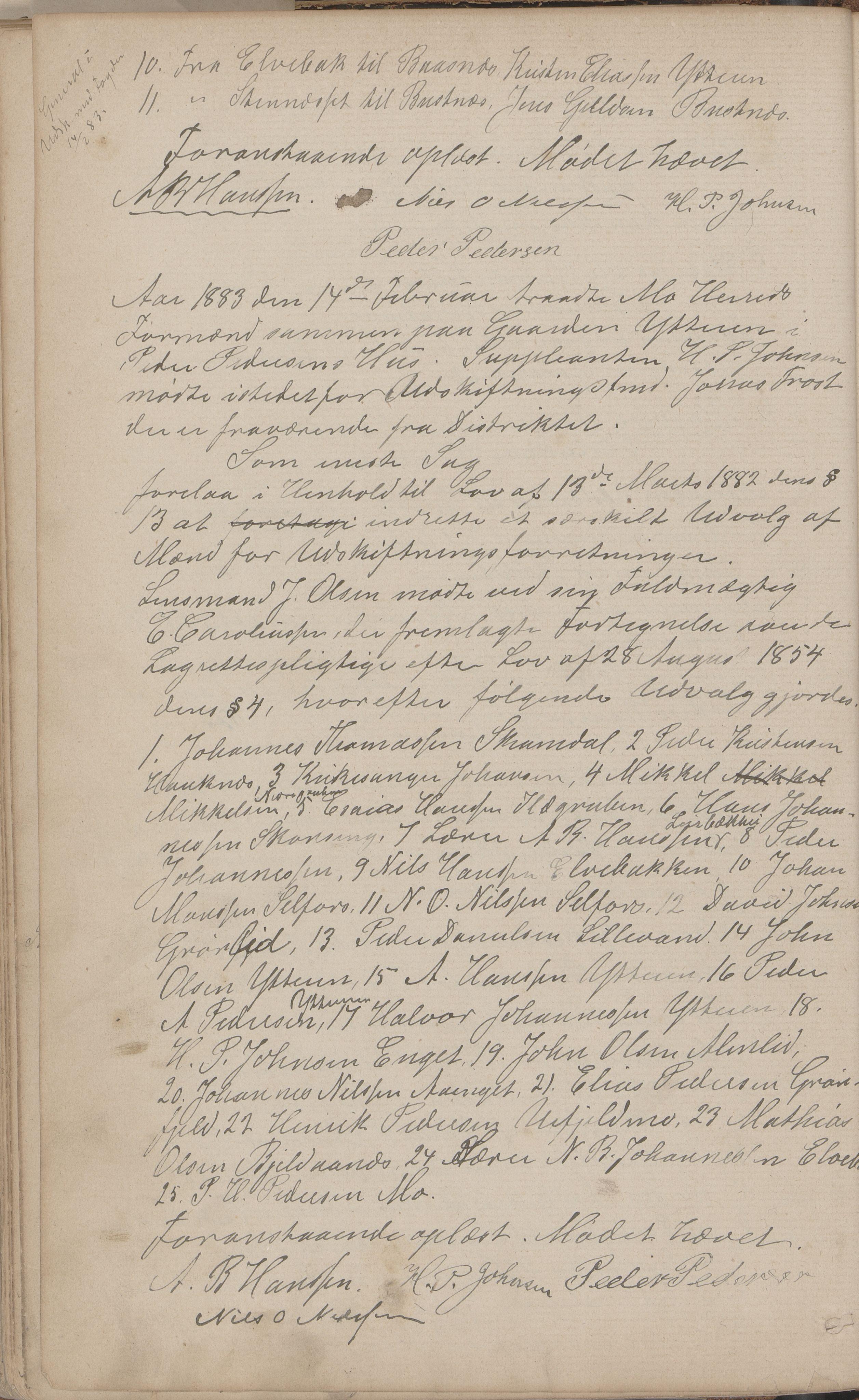 AIN, Mo kommune. Formannskapet, A/Aa/L0002: Møtebok, 1876-1891, s. 82b