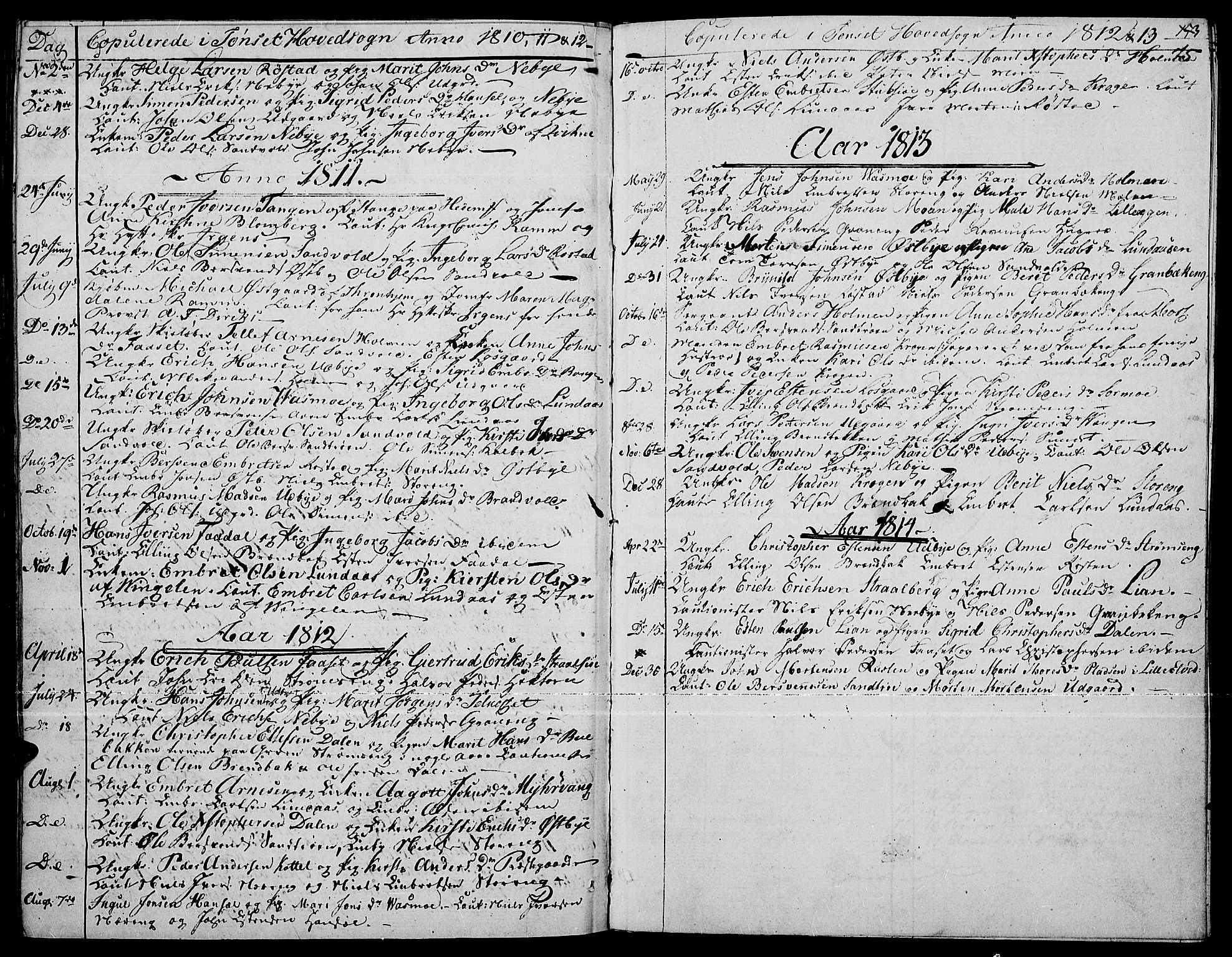 SAH, Tynset prestekontor, Ministerialbok nr. 15, 1801-1814, s. 75