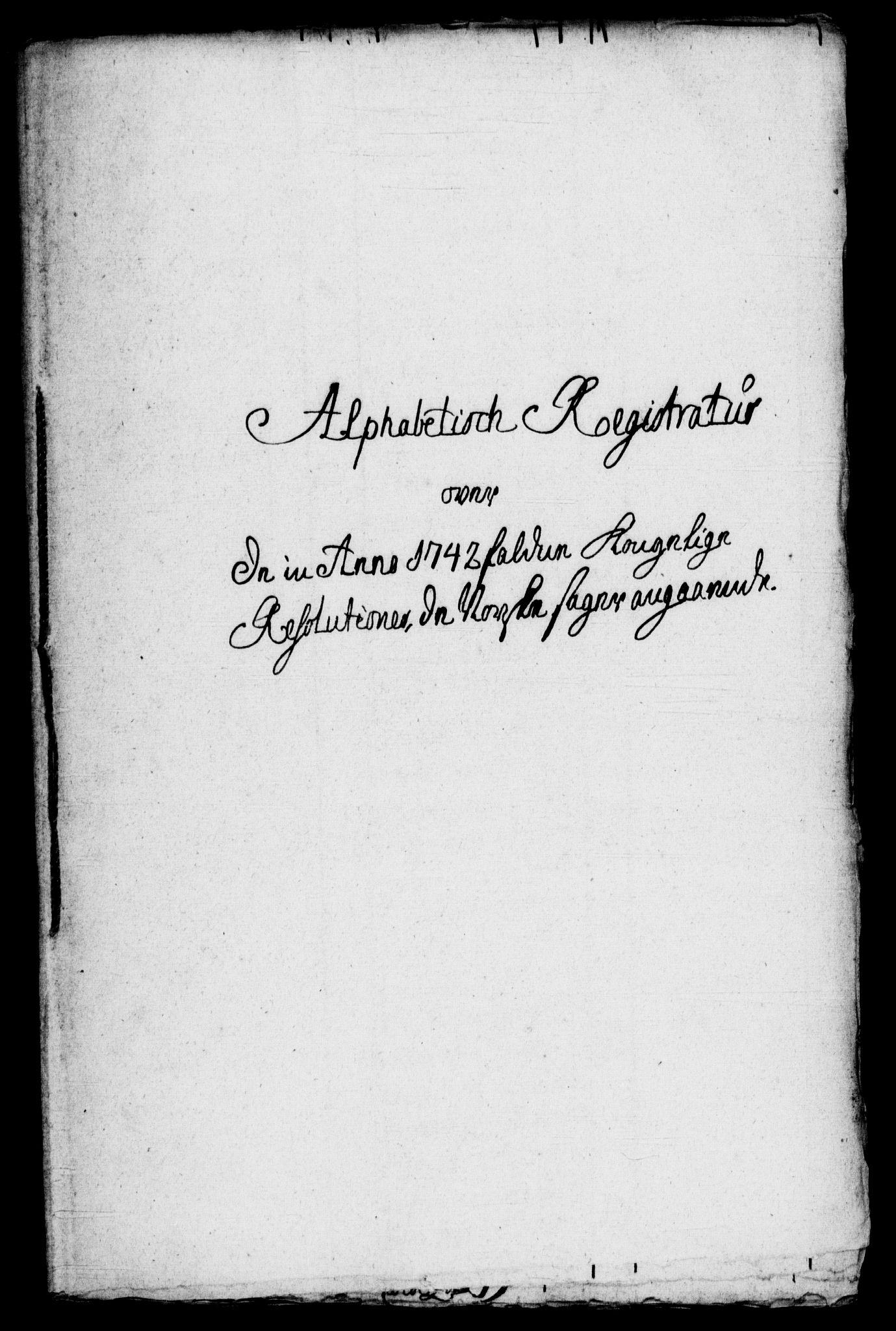 RA, Rentekammeret, Kammerkanselliet, G/Gf/Gfb/L0001: Register til norske relasjons- og resolusjonsprotokoller (merket RK 52.96), 1720-1749, s. 472