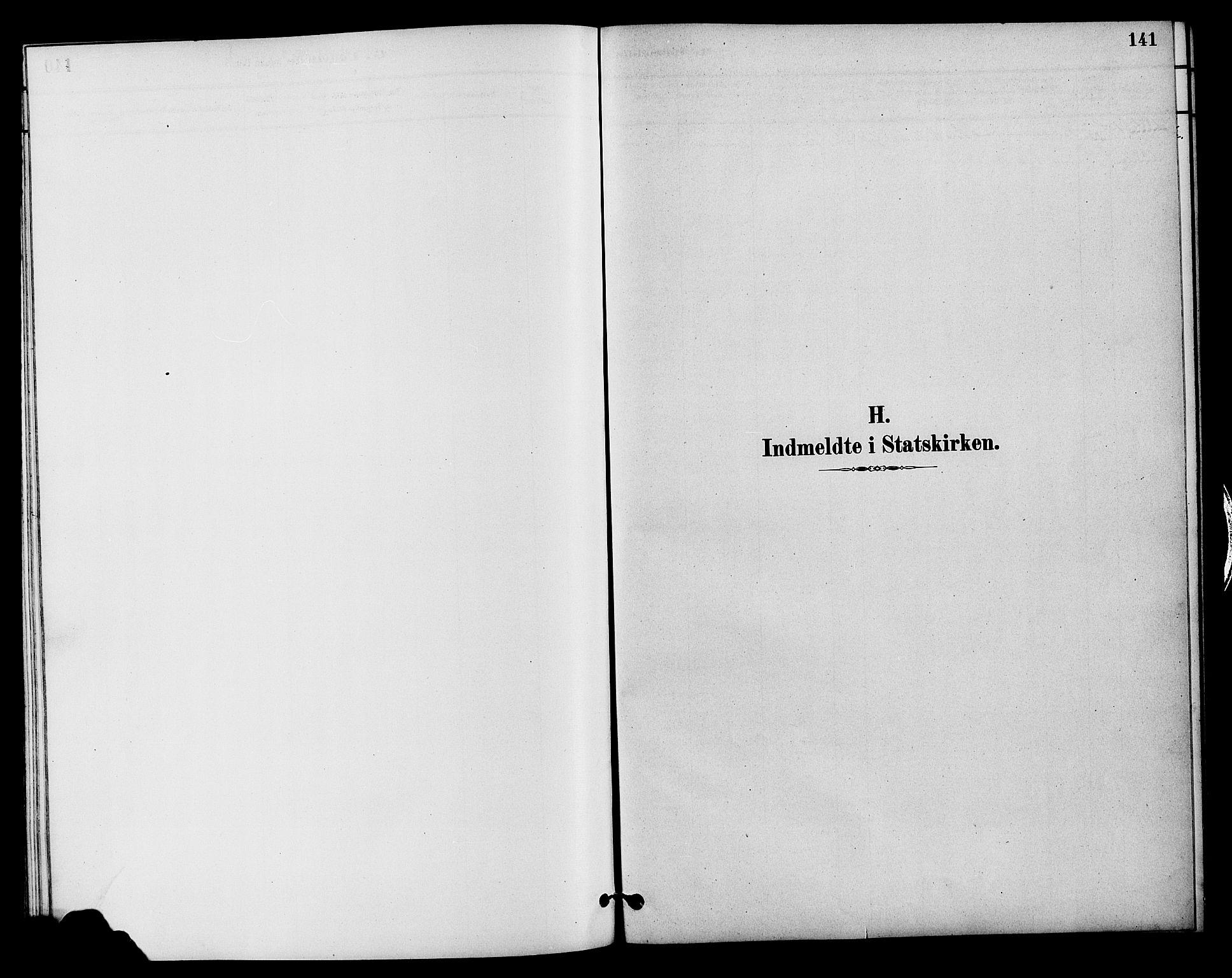 SAH, Vestre Slidre prestekontor, Klokkerbok nr. 4, 1881-1912, s. 141