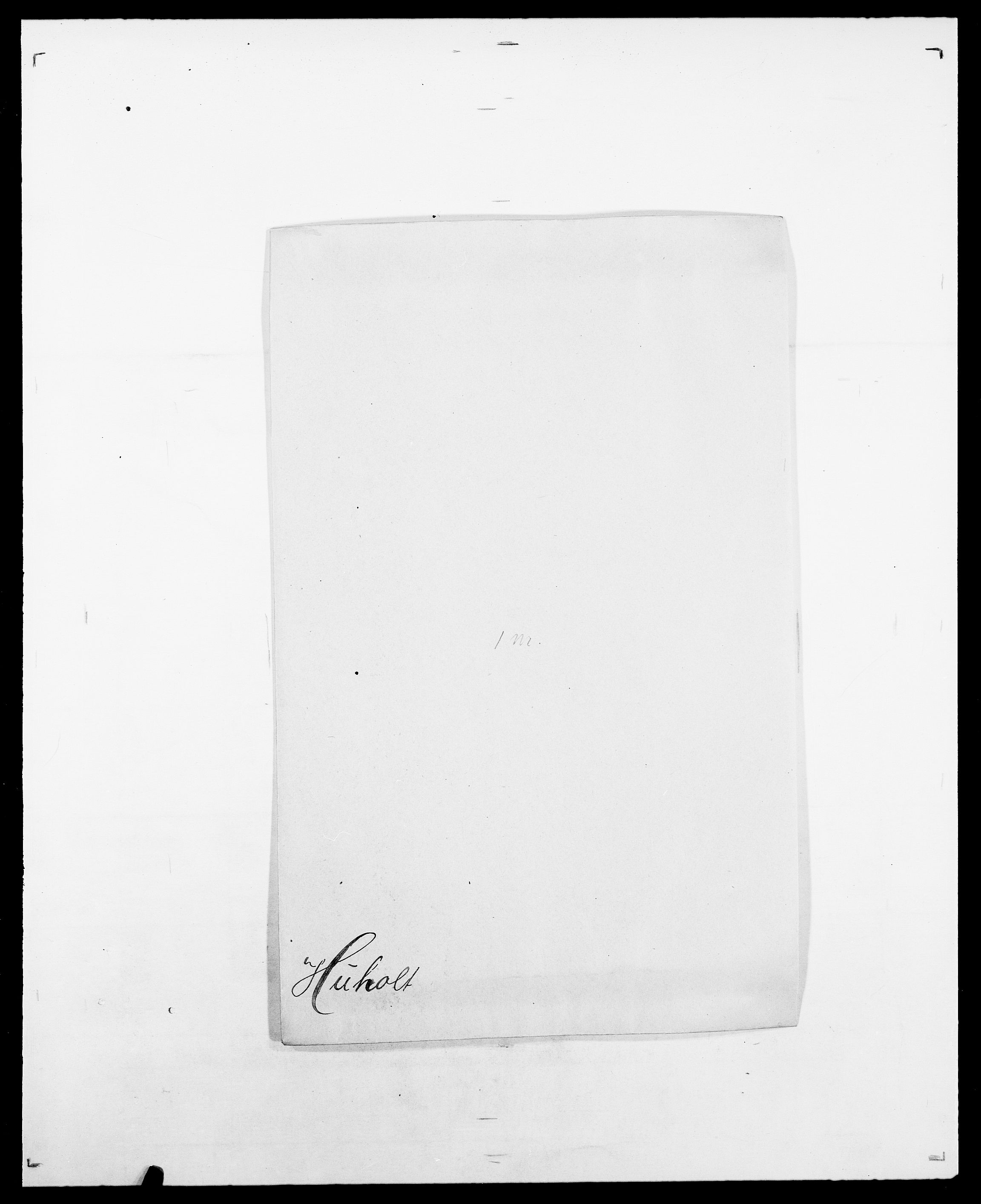 SAO, Delgobe, Charles Antoine - samling, D/Da/L0019: van der Hude - Joys, s. 34