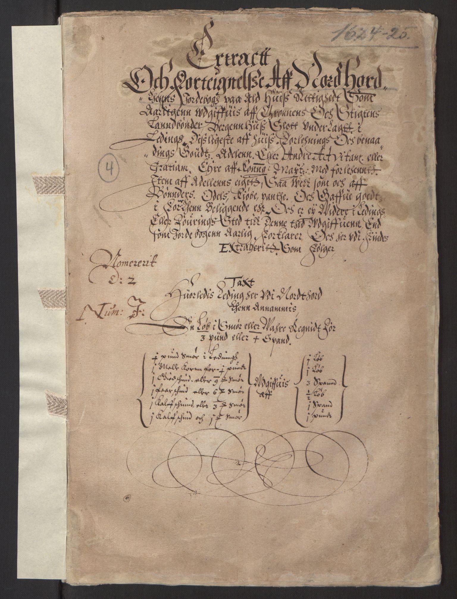 RA, Stattholderembetet 1572-1771, Ek/L0003: Jordebøker til utlikning av garnisonsskatt 1624-1626:, 1624-1625, s. 71