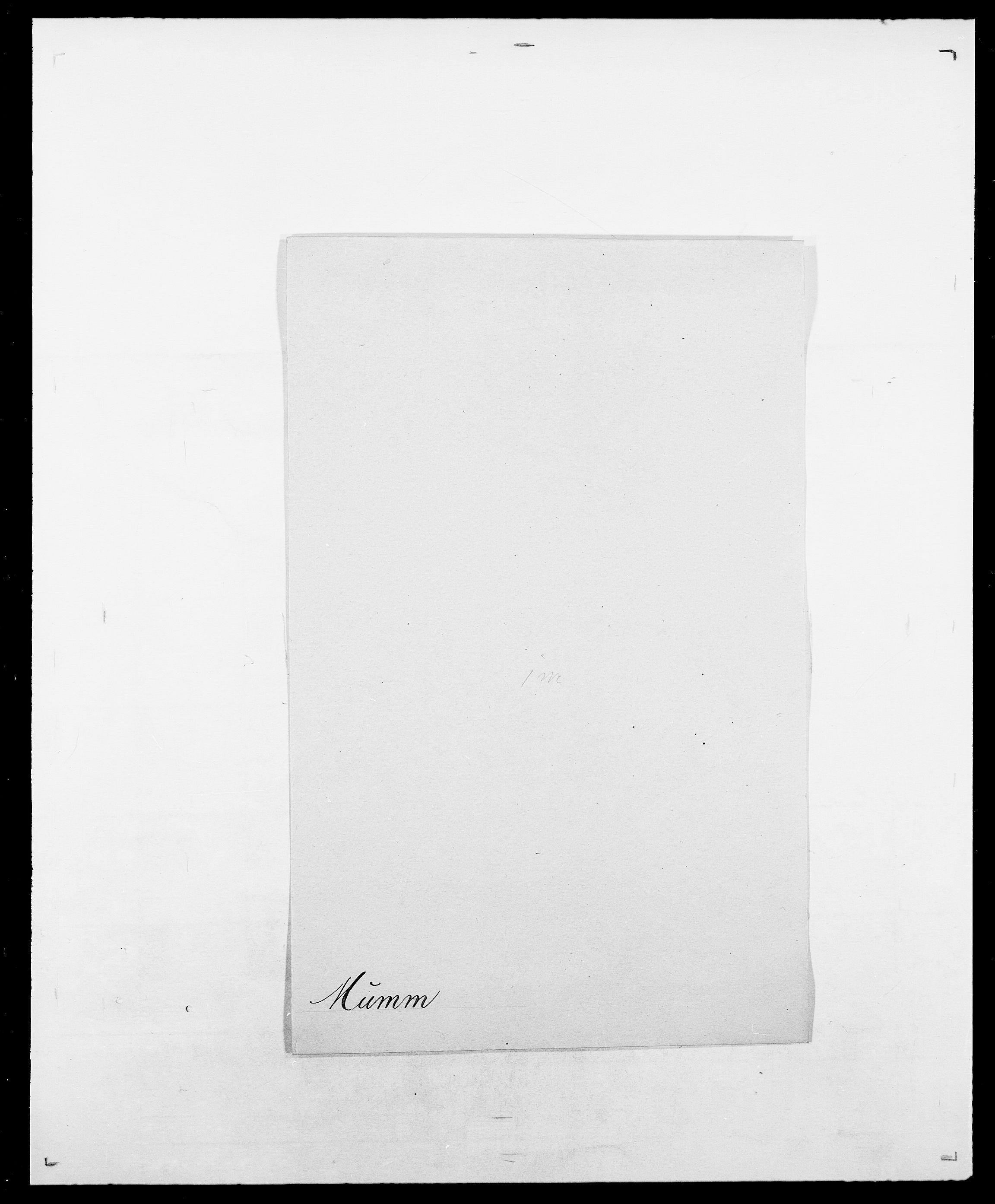 SAO, Delgobe, Charles Antoine - samling, D/Da/L0027: Morath - v. Møsting, s. 144