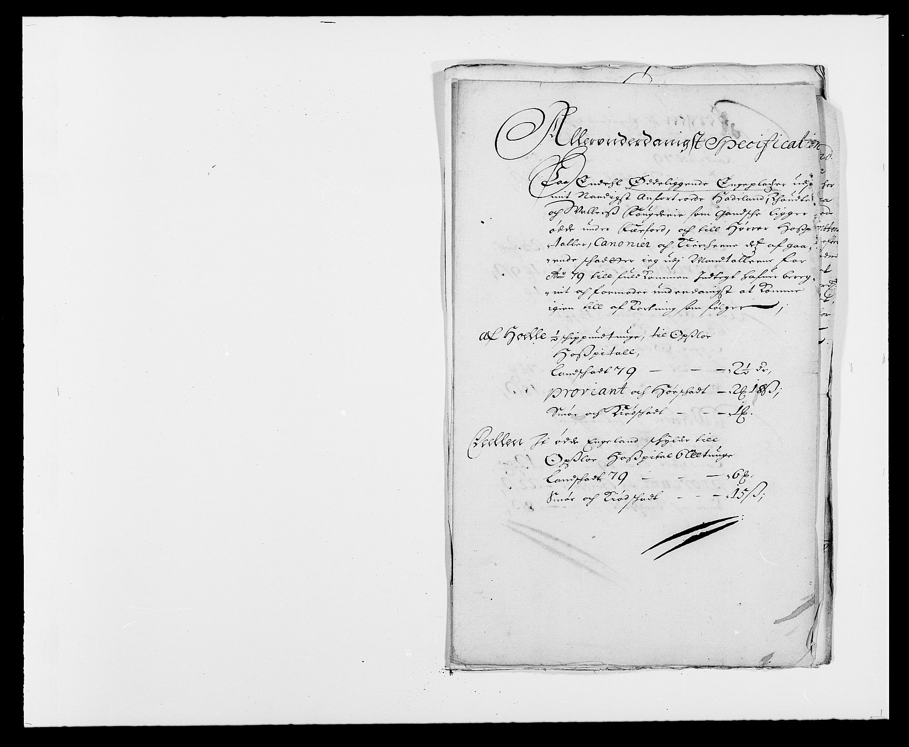RA, Rentekammeret inntil 1814, Reviderte regnskaper, Fogderegnskap, R18/L1274: Fogderegnskap Hadeland, Toten og Valdres, 1679, s. 281