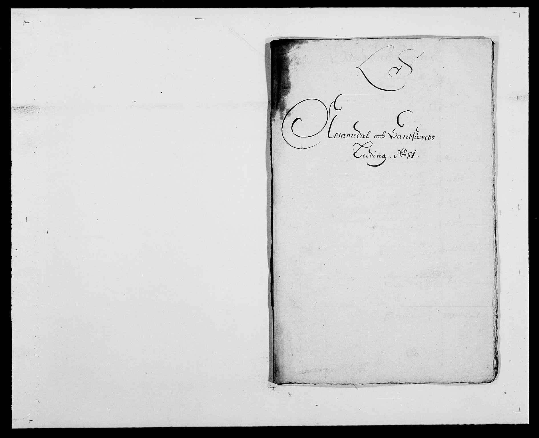 RA, Rentekammeret inntil 1814, Reviderte regnskaper, Fogderegnskap, R24/L1569: Fogderegnskap Numedal og Sandsvær, 1679-1686, s. 236