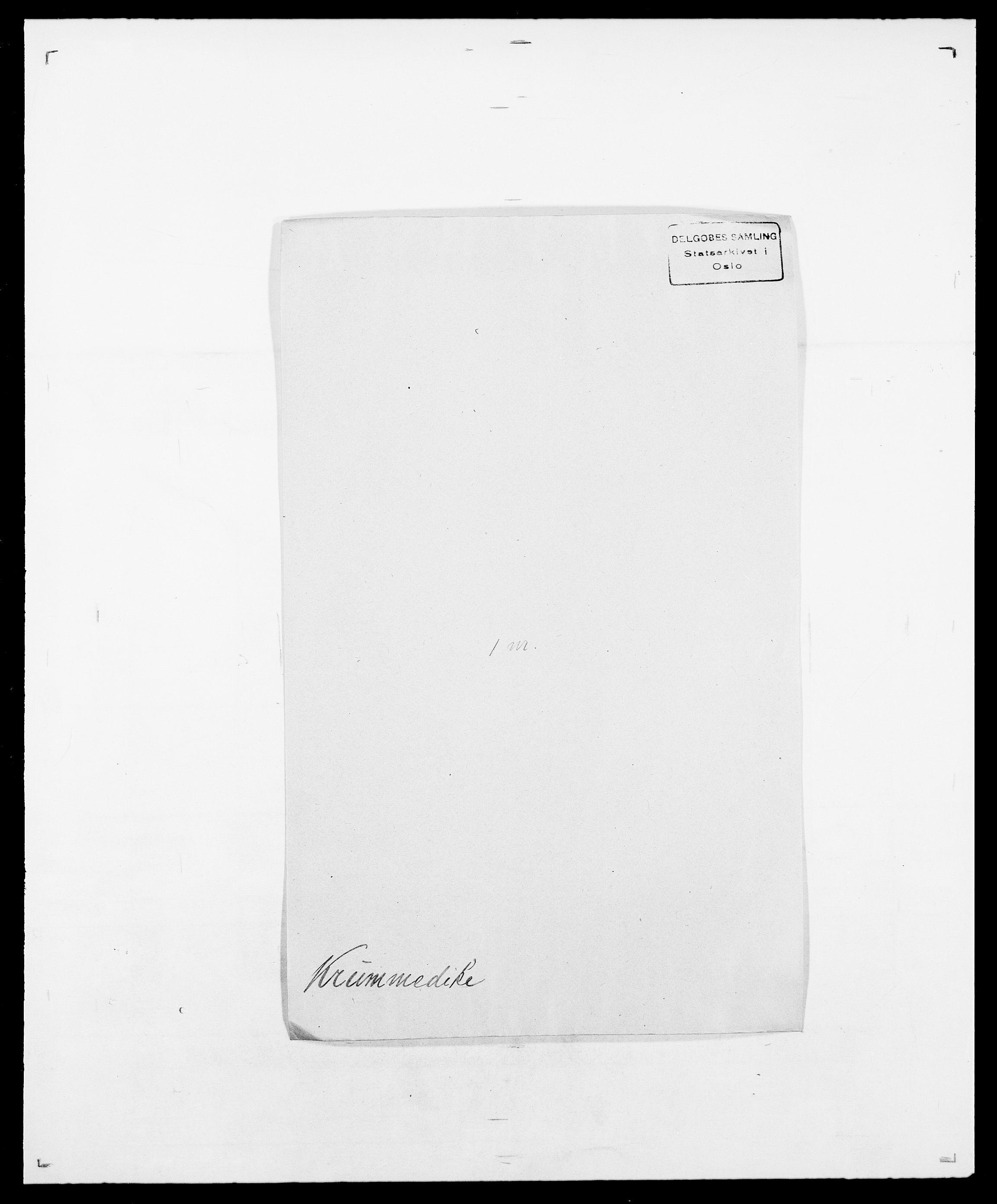 SAO, Delgobe, Charles Antoine - samling, D/Da/L0022: Krog - Lasteen, s. 145