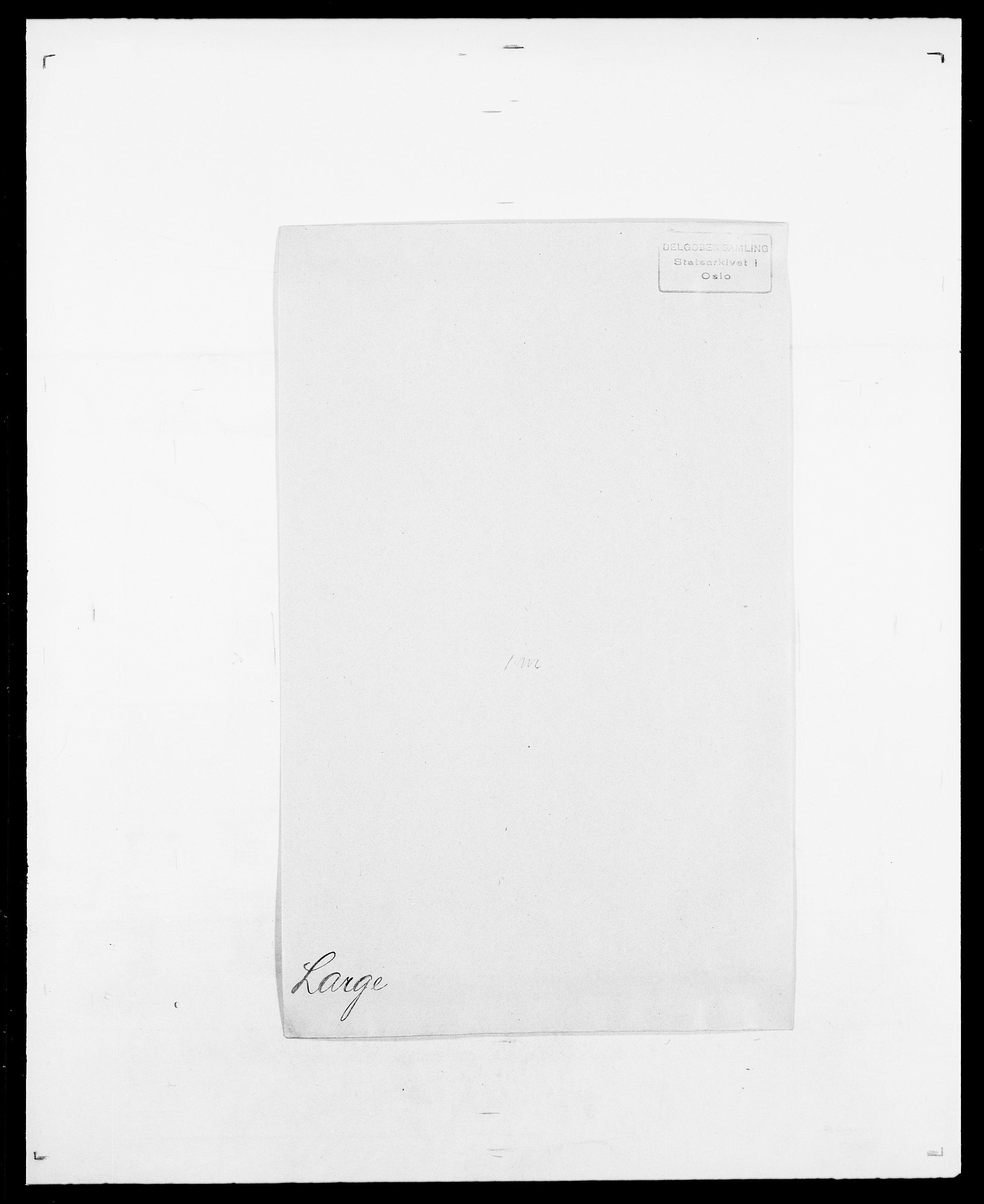 SAO, Delgobe, Charles Antoine - samling, D/Da/L0022: Krog - Lasteen, s. 718