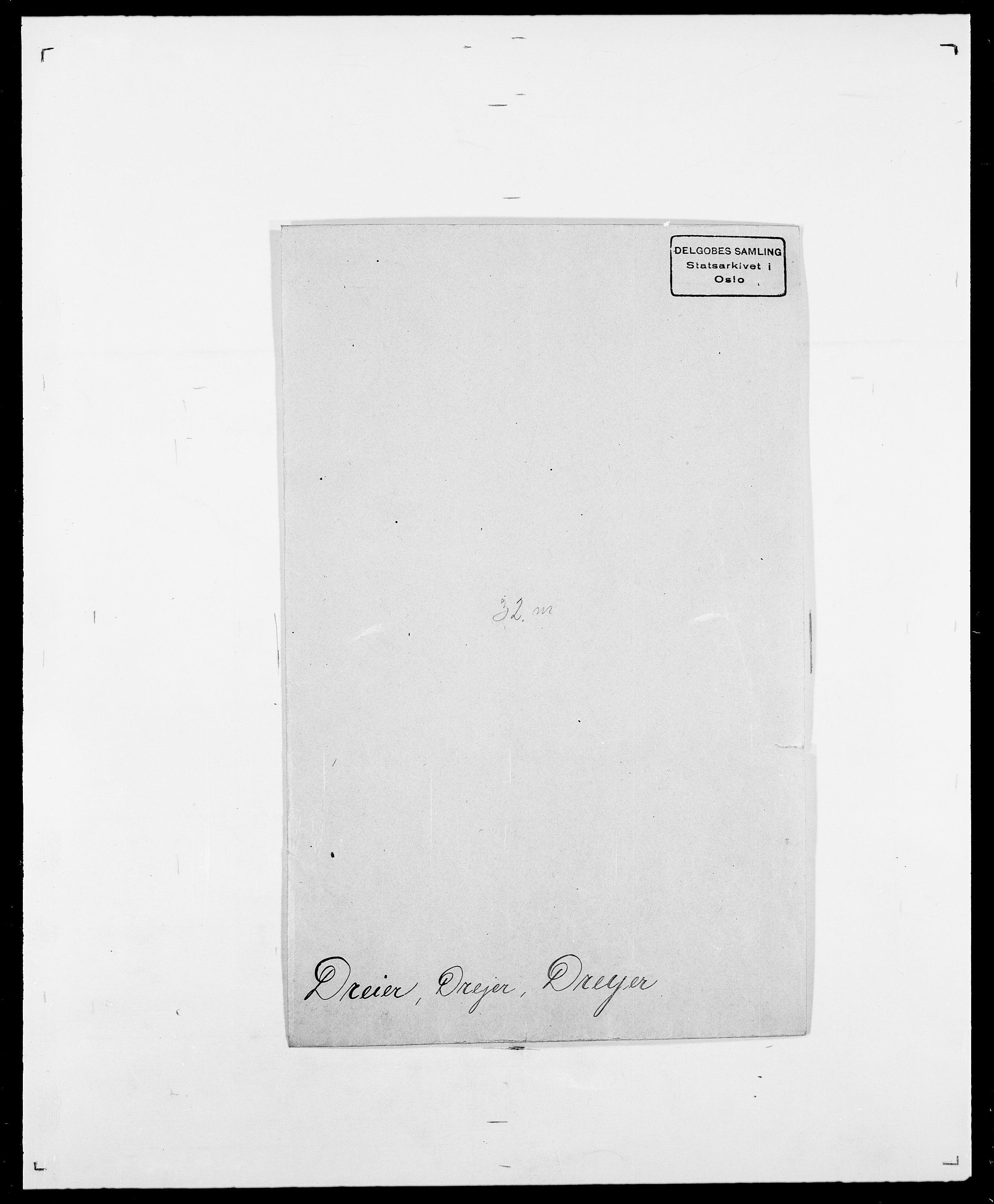 SAO, Delgobe, Charles Antoine - samling, D/Da/L0009: Dahl - v. Düren, s. 738