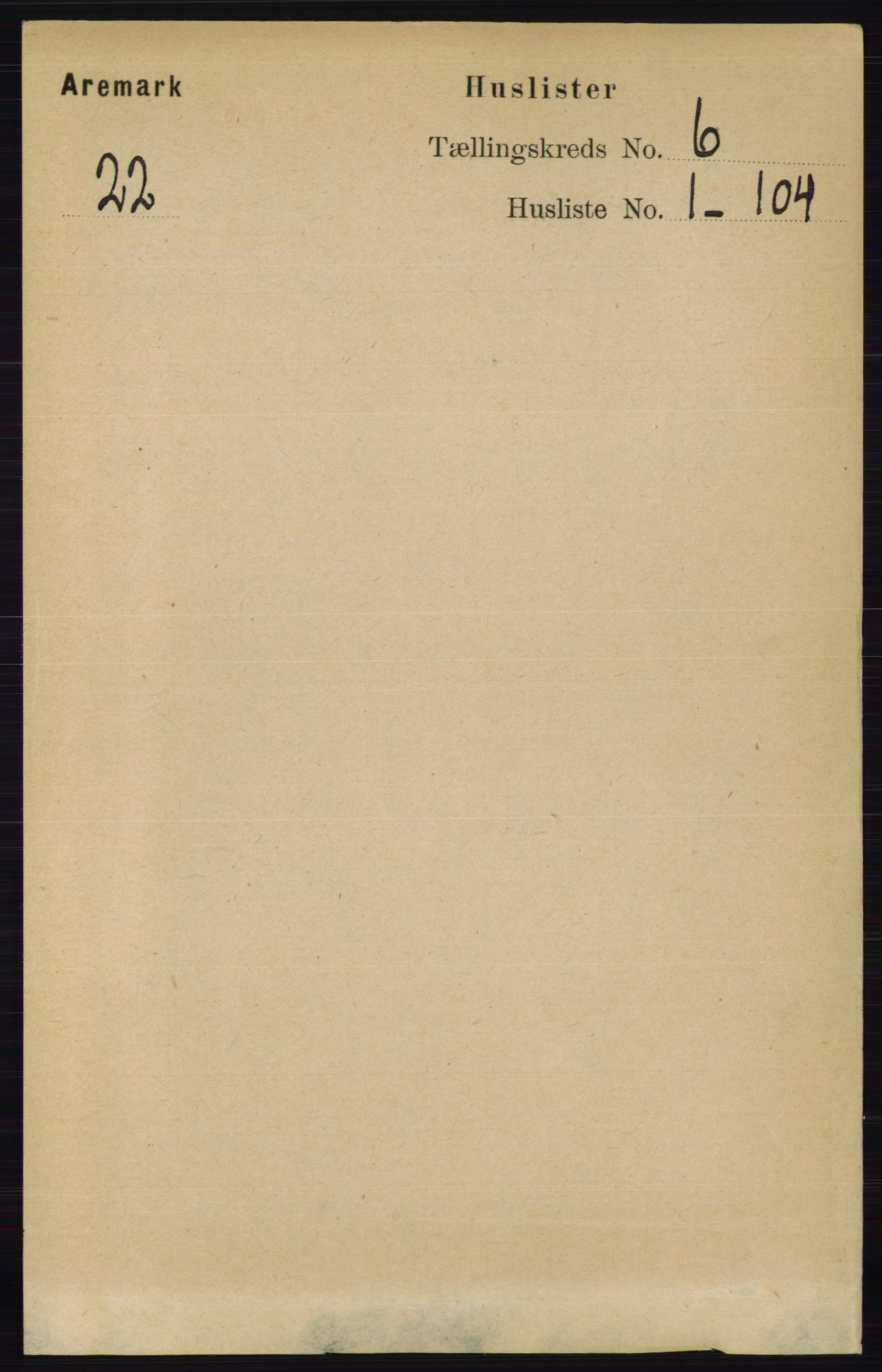 RA, Folketelling 1891 for 0118 Aremark herred, 1891, s. 2994