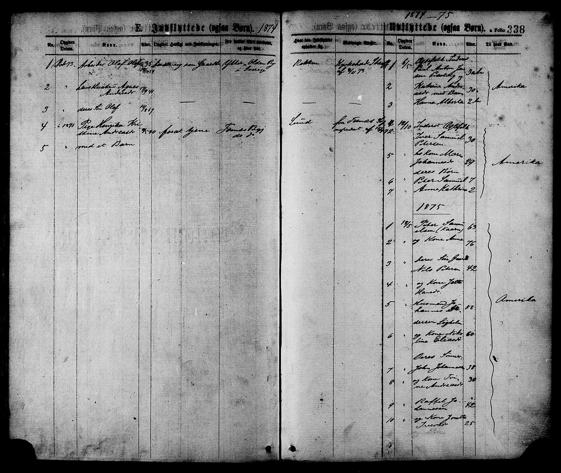 SAT, Ministerialprotokoller, klokkerbøker og fødselsregistre - Nord-Trøndelag, 780/L0642: Ministerialbok nr. 780A07 /1, 1874-1885, s. 338