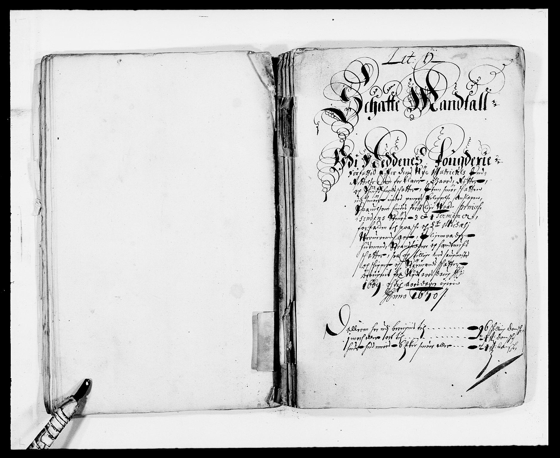 RA, Rentekammeret inntil 1814, Reviderte regnskaper, Fogderegnskap, R39/L2297: Fogderegnskap Nedenes, 1667-1669, s. 342