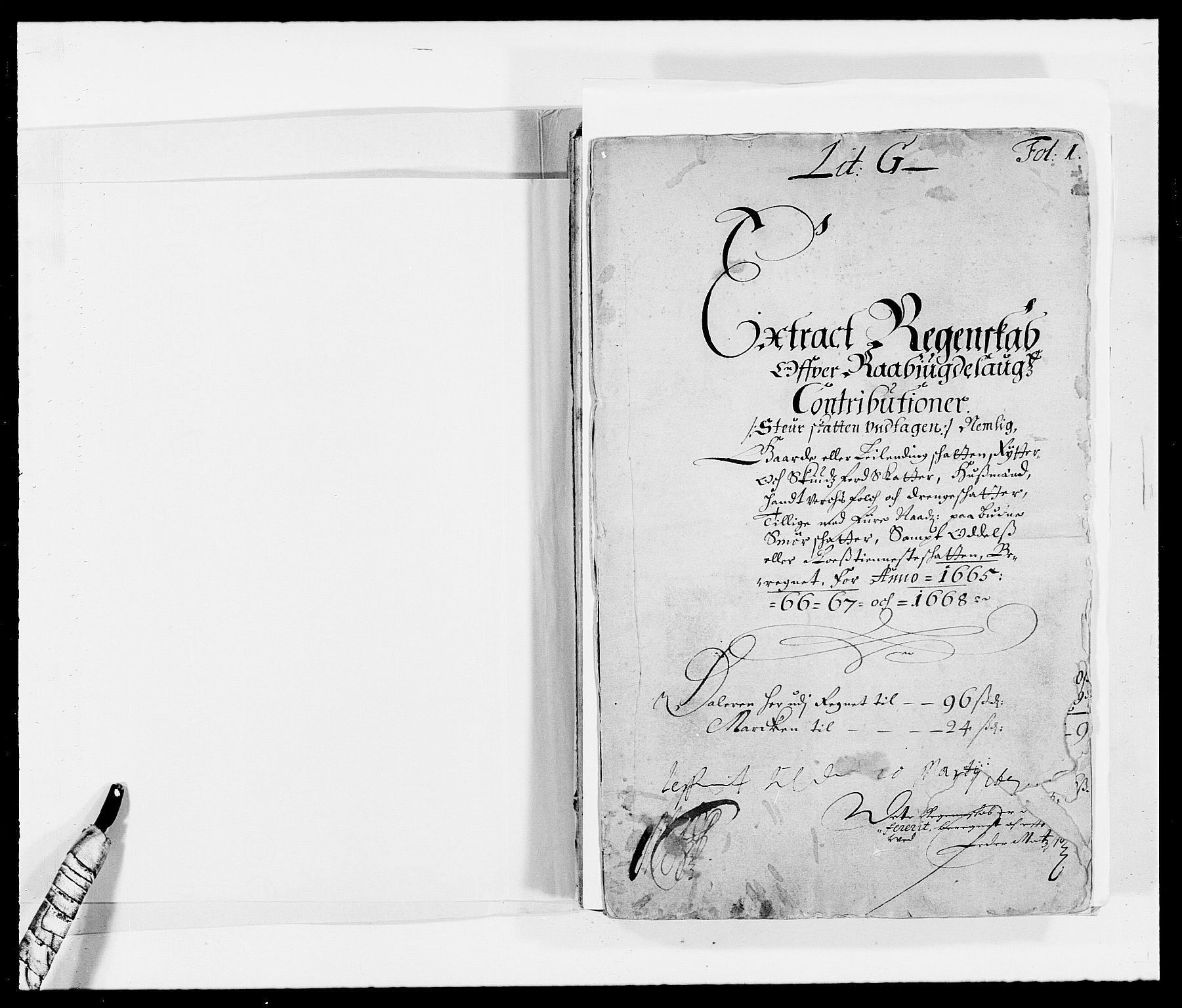 RA, Rentekammeret inntil 1814, Reviderte regnskaper, Fogderegnskap, R40/L2431: Fogderegnskap Råbyggelag, 1664-1668, s. 232