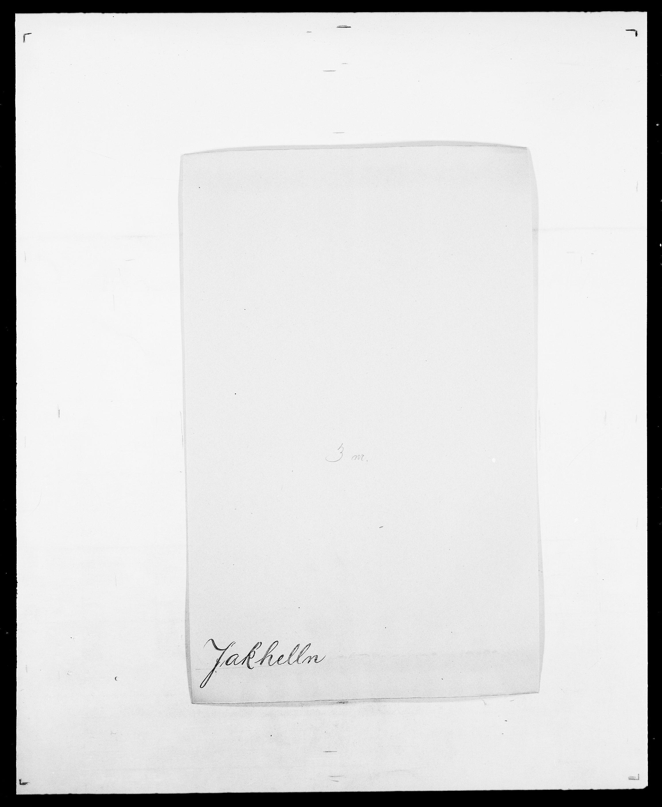 SAO, Delgobe, Charles Antoine - samling, D/Da/L0019: van der Hude - Joys, s. 527