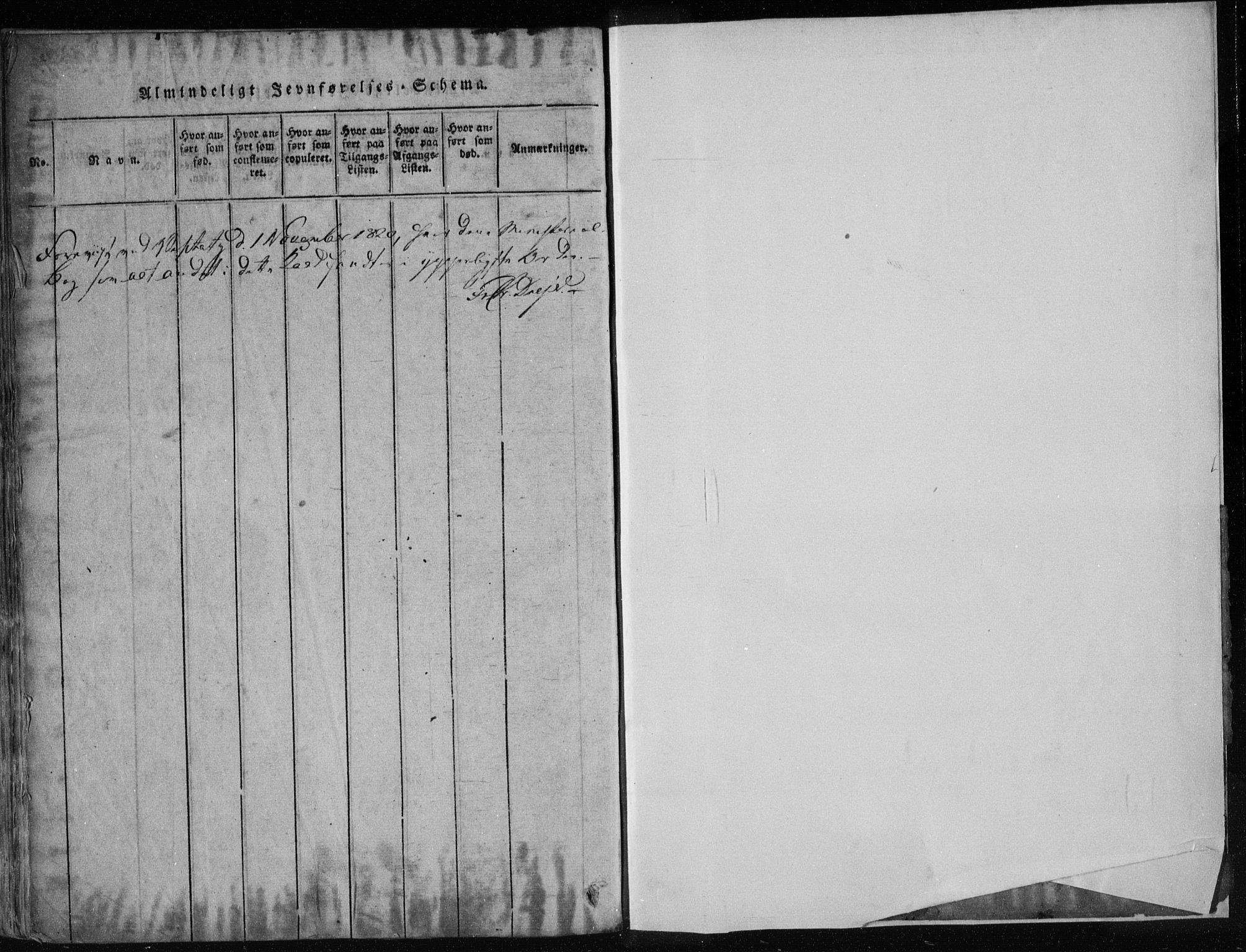 SAKO, Gjerpen kirkebøker, F/Fa/L0004: Ministerialbok nr. 4, 1814-1823