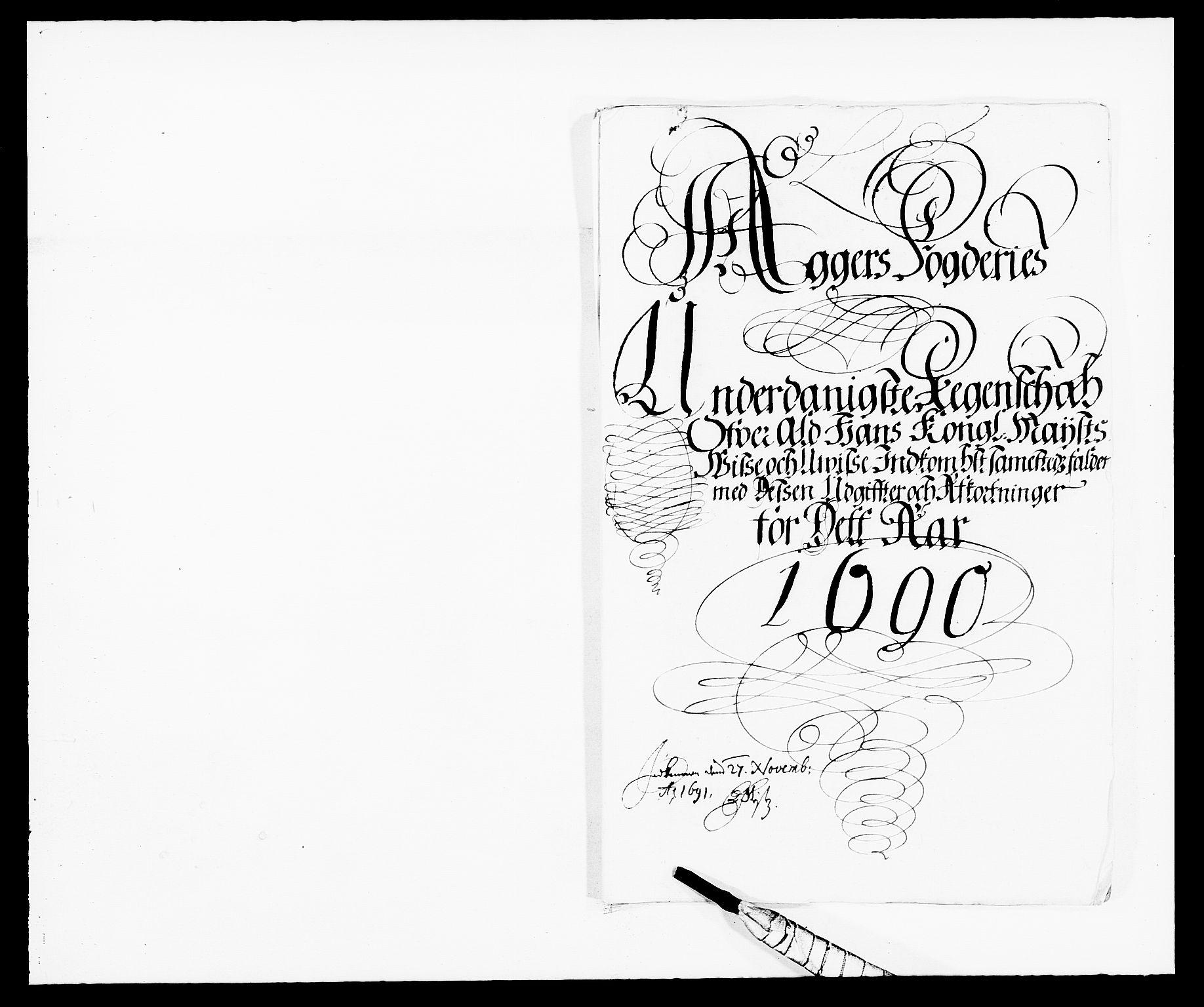 RA, Rentekammeret inntil 1814, Reviderte regnskaper, Fogderegnskap, R08/L0423: Fogderegnskap Aker, 1687-1689, s. 133