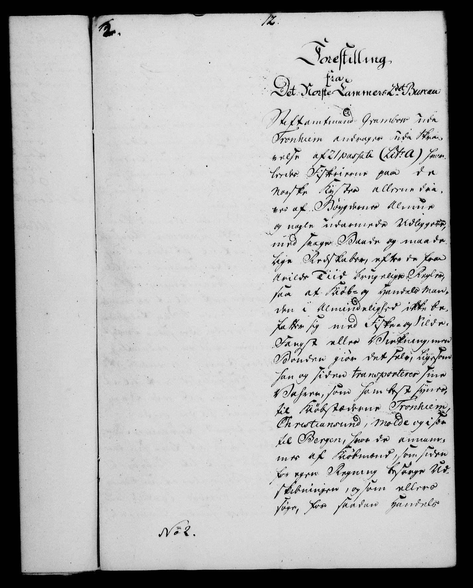 RA, Rentekammeret, Kammerkanselliet, G/Gf/Gfa/L0054: Norsk relasjons- og resolusjonsprotokoll (merket RK 52.54), 1771-1772, s. 227