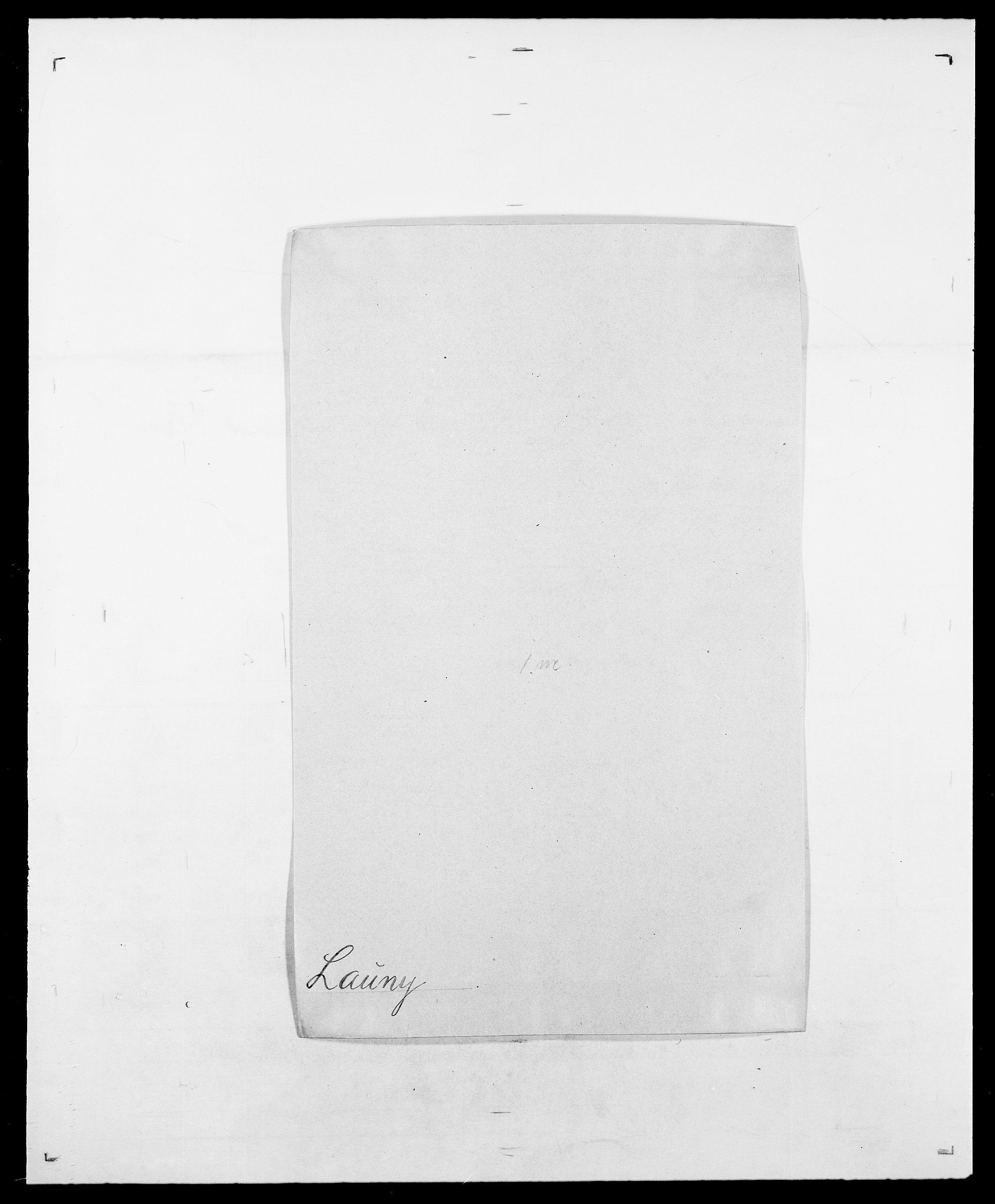 SAO, Delgobe, Charles Antoine - samling, D/Da/L0023: Lau - Lirvyn, s. 15