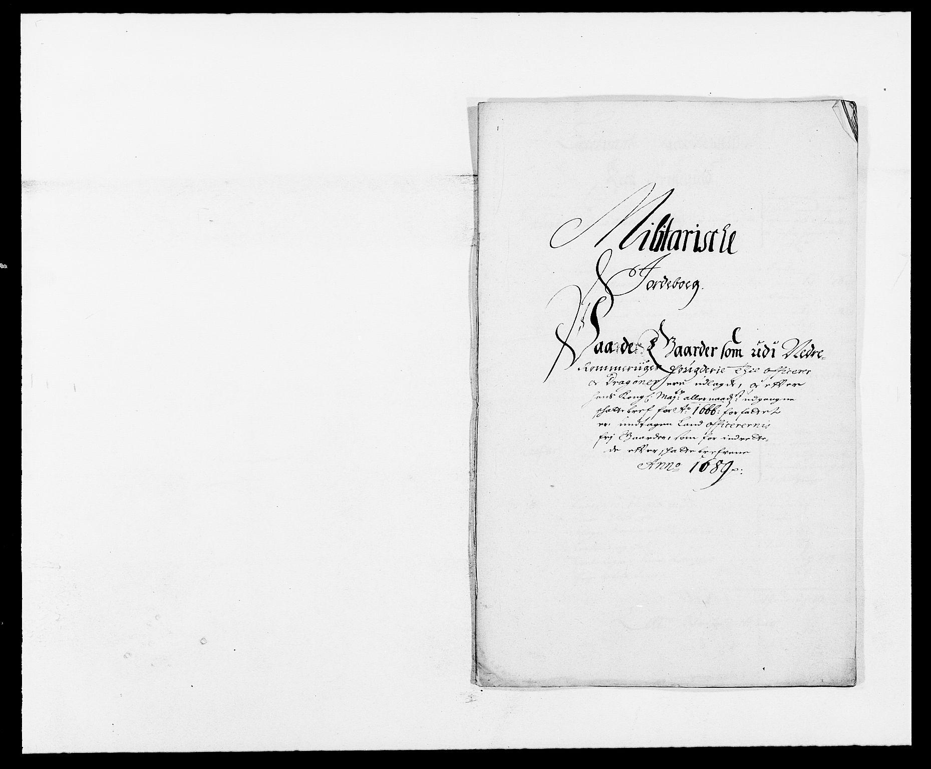 RA, Rentekammeret inntil 1814, Reviderte regnskaper, Fogderegnskap, R11/L0574: Fogderegnskap Nedre Romerike, 1689-1690, s. 208
