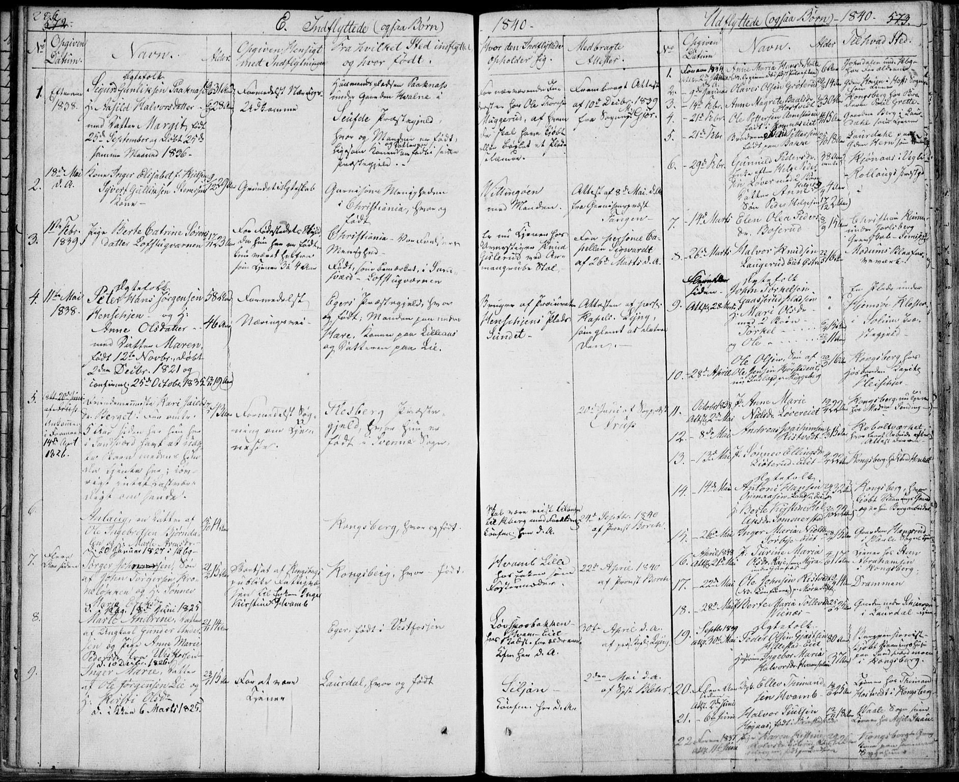 SAKO, Sandsvær kirkebøker, F/Fa/L0005: Ministerialbok nr. I 5, 1840-1856, s. 572-573