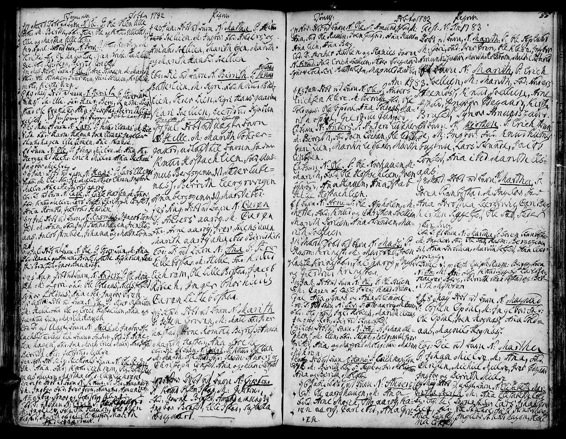 SAT, Ministerialprotokoller, klokkerbøker og fødselsregistre - Møre og Romsdal, 555/L0648: Ministerialbok nr. 555A01, 1759-1793, s. 55