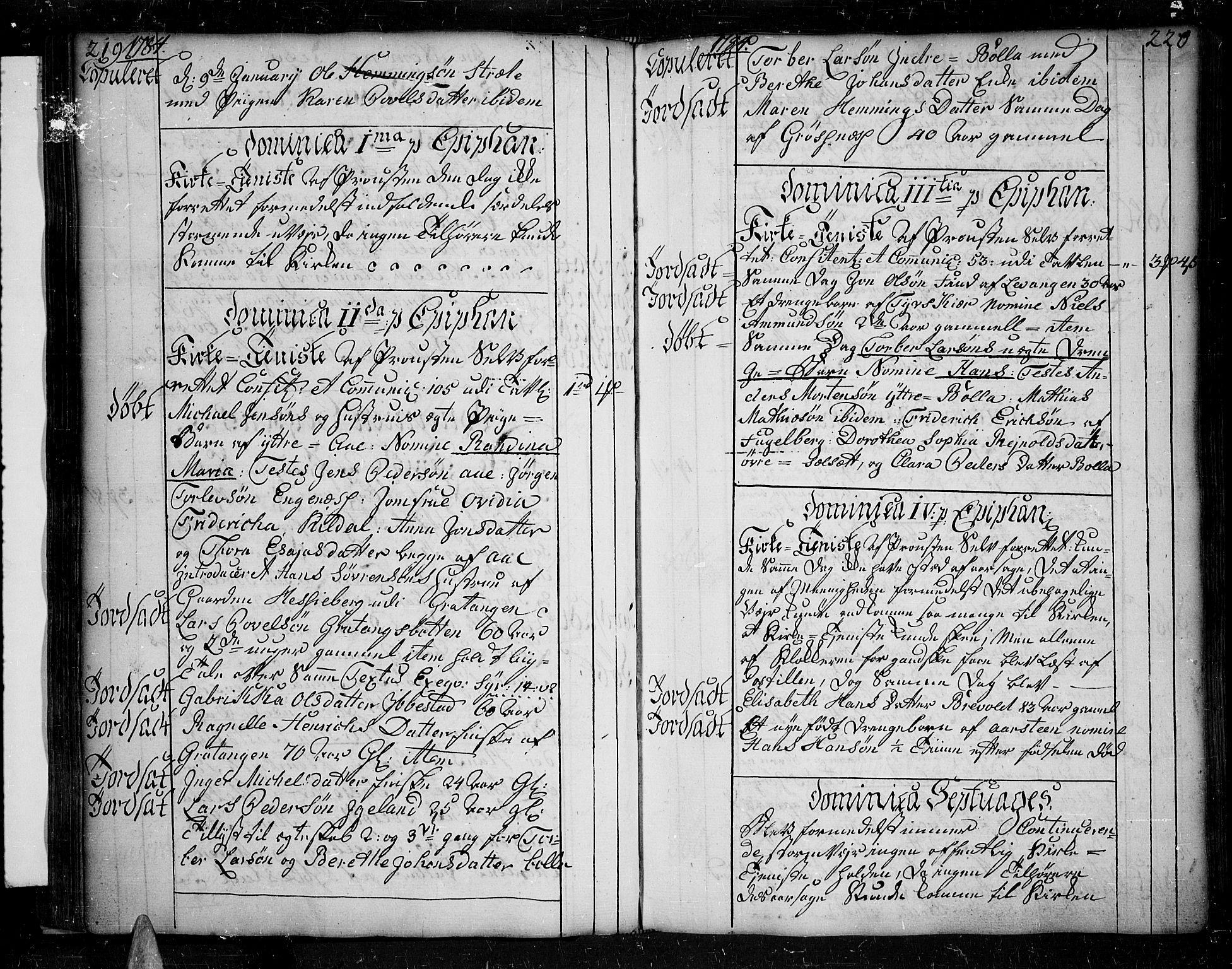SATØ, Ibestad sokneprestembete, H/Ha/Haa/L0003kirke: Ministerialbok nr. 3, 1776-1801, s. 219-220
