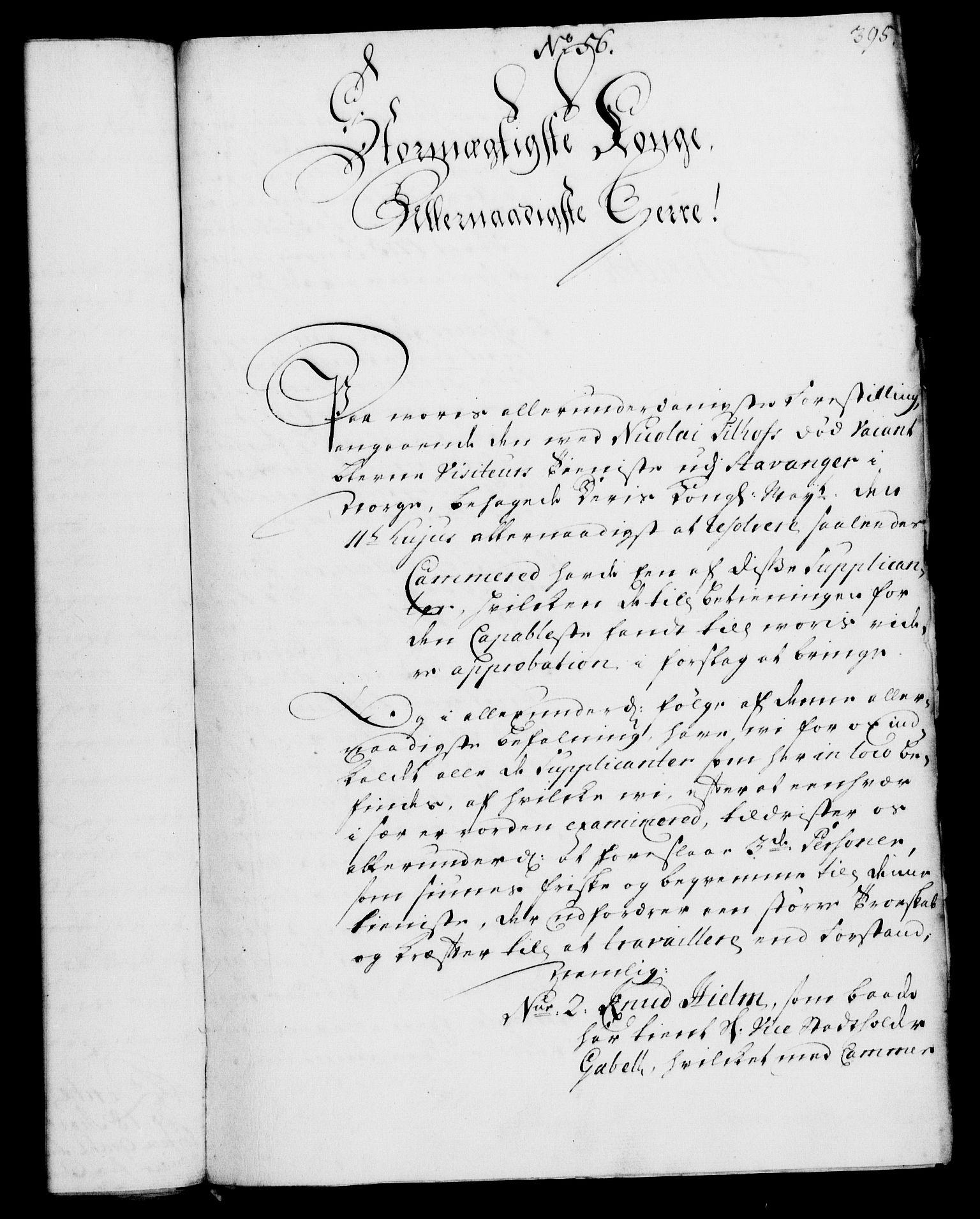 RA, Rentekammeret, Kammerkanselliet, G/Gf/Gfa/L0002: Norsk relasjons- og resolusjonsprotokoll (merket RK 52.2), 1720, s. 390