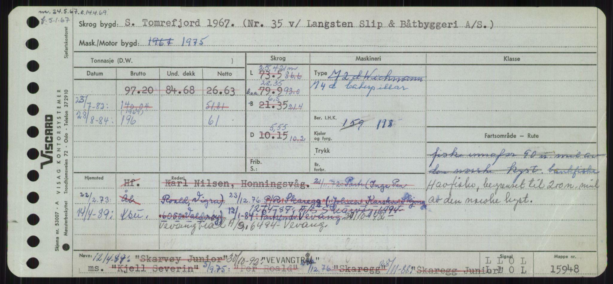 RA, Sjøfartsdirektoratet med forløpere, Skipsmålingen, H/Ha/L0006: Fartøy, Sver-Å, s. 389