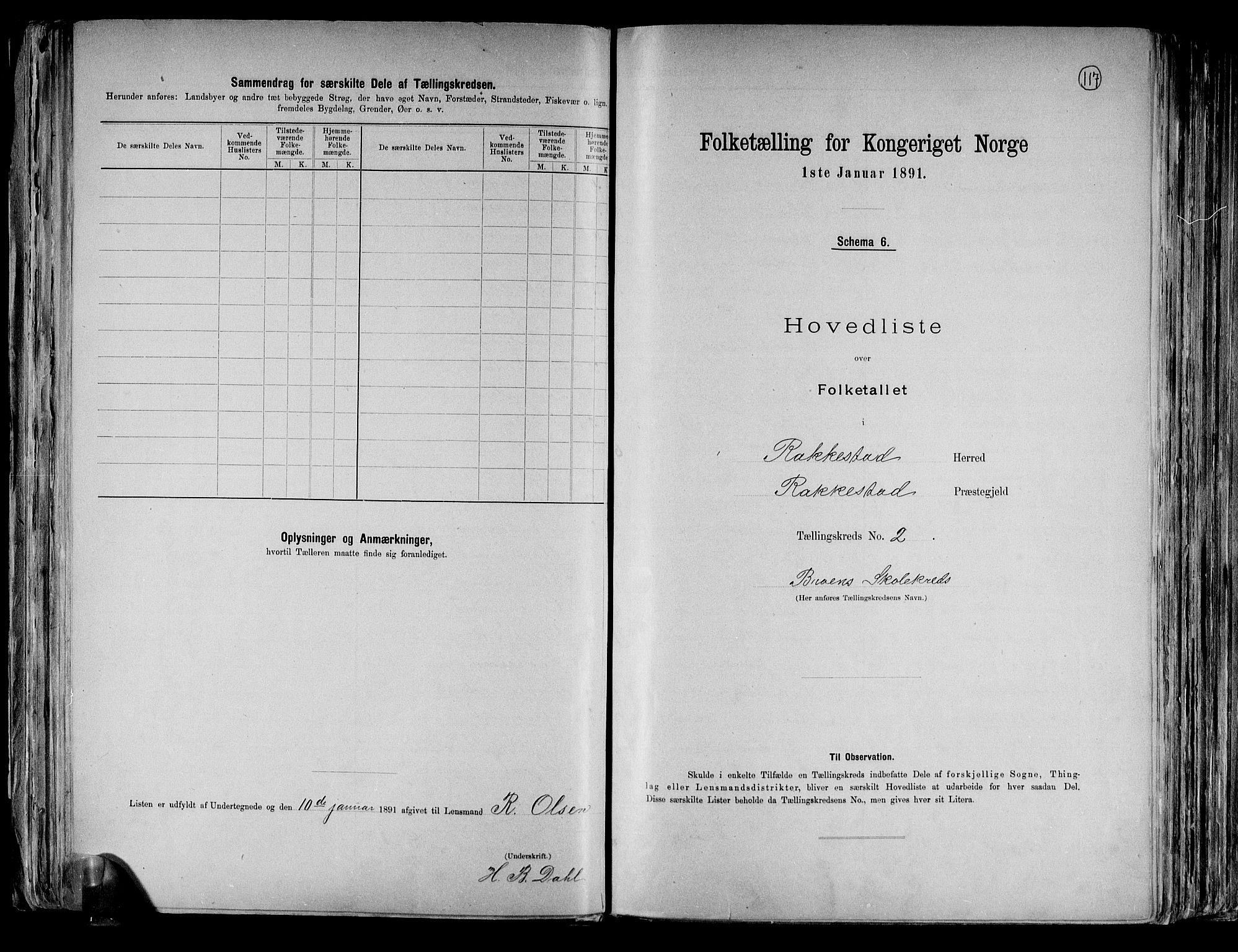 RA, Folketelling 1891 for 0128 Rakkestad herred, 1891, s. 8
