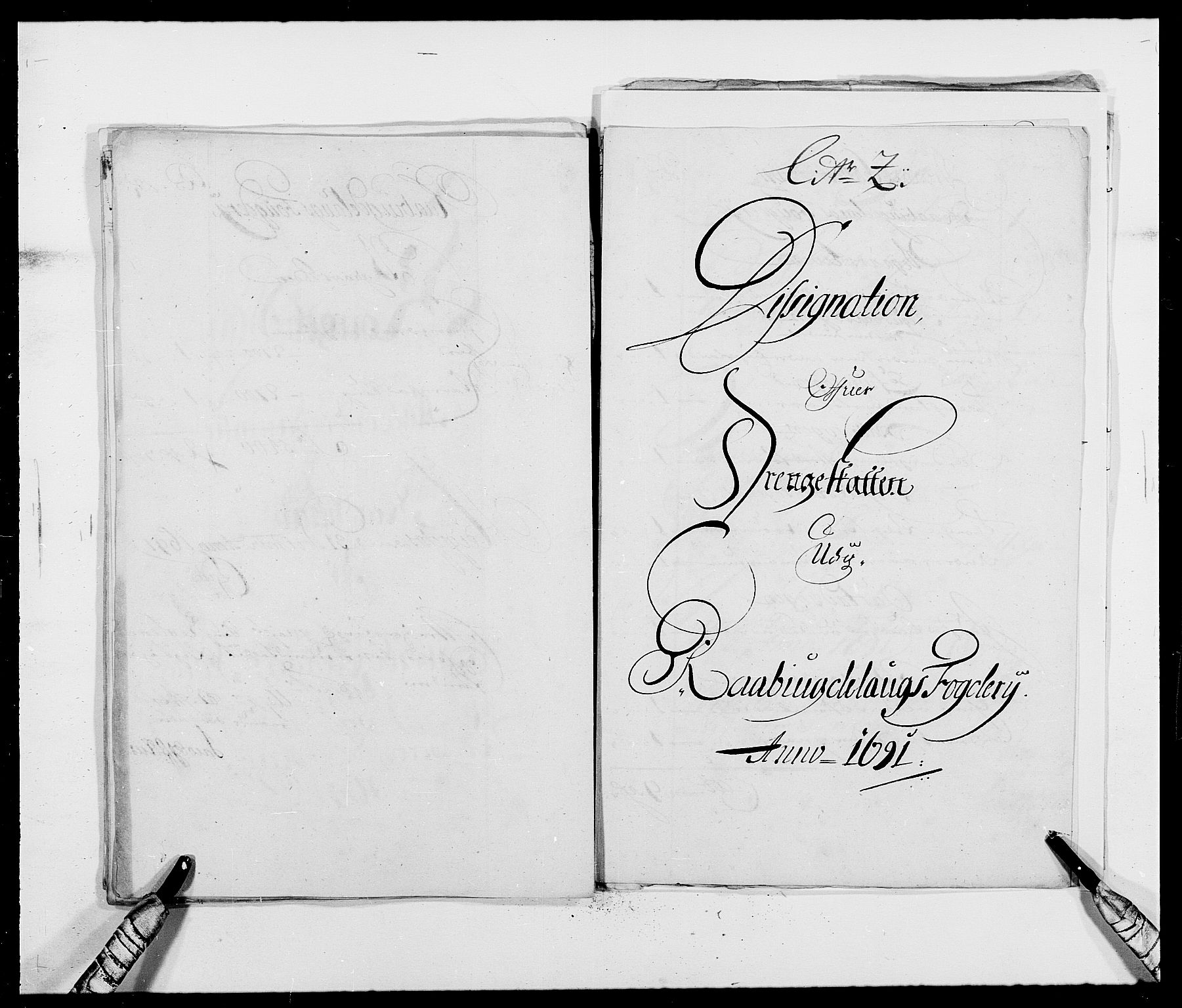RA, Rentekammeret inntil 1814, Reviderte regnskaper, Fogderegnskap, R40/L2443: Fogderegnskap Råbyggelag, 1691-1692, s. 53