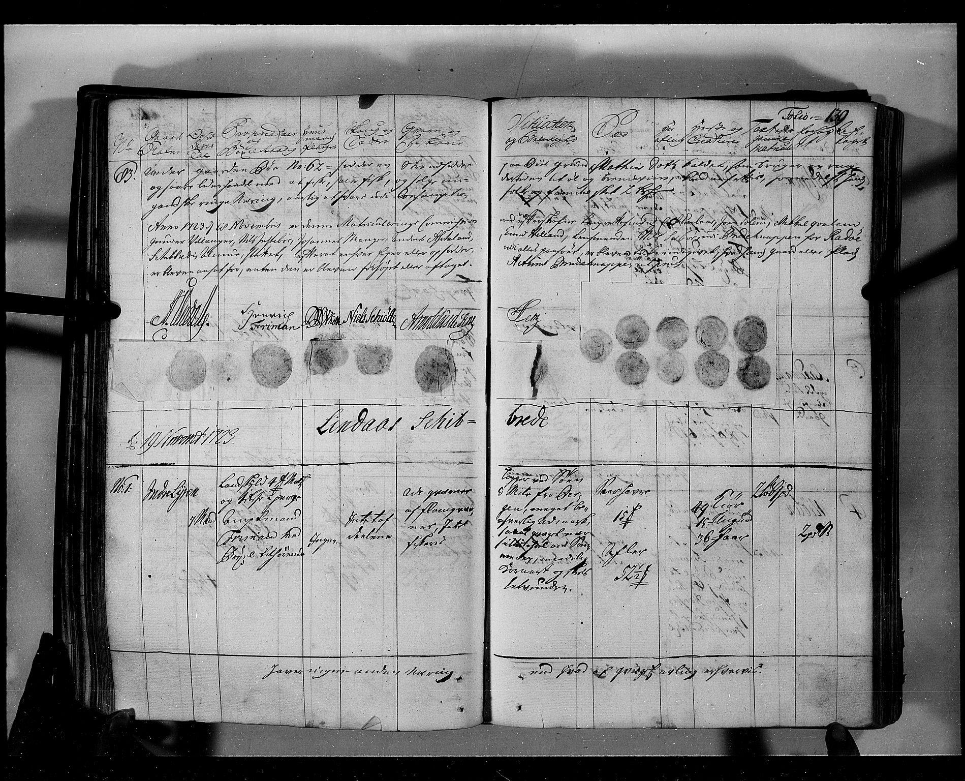 RA, Rentekammeret inntil 1814, Realistisk ordnet avdeling, N/Nb/Nbf/L0139: Nordhordland eksaminasjonsprotokoll, 1723, s. 138b-139a