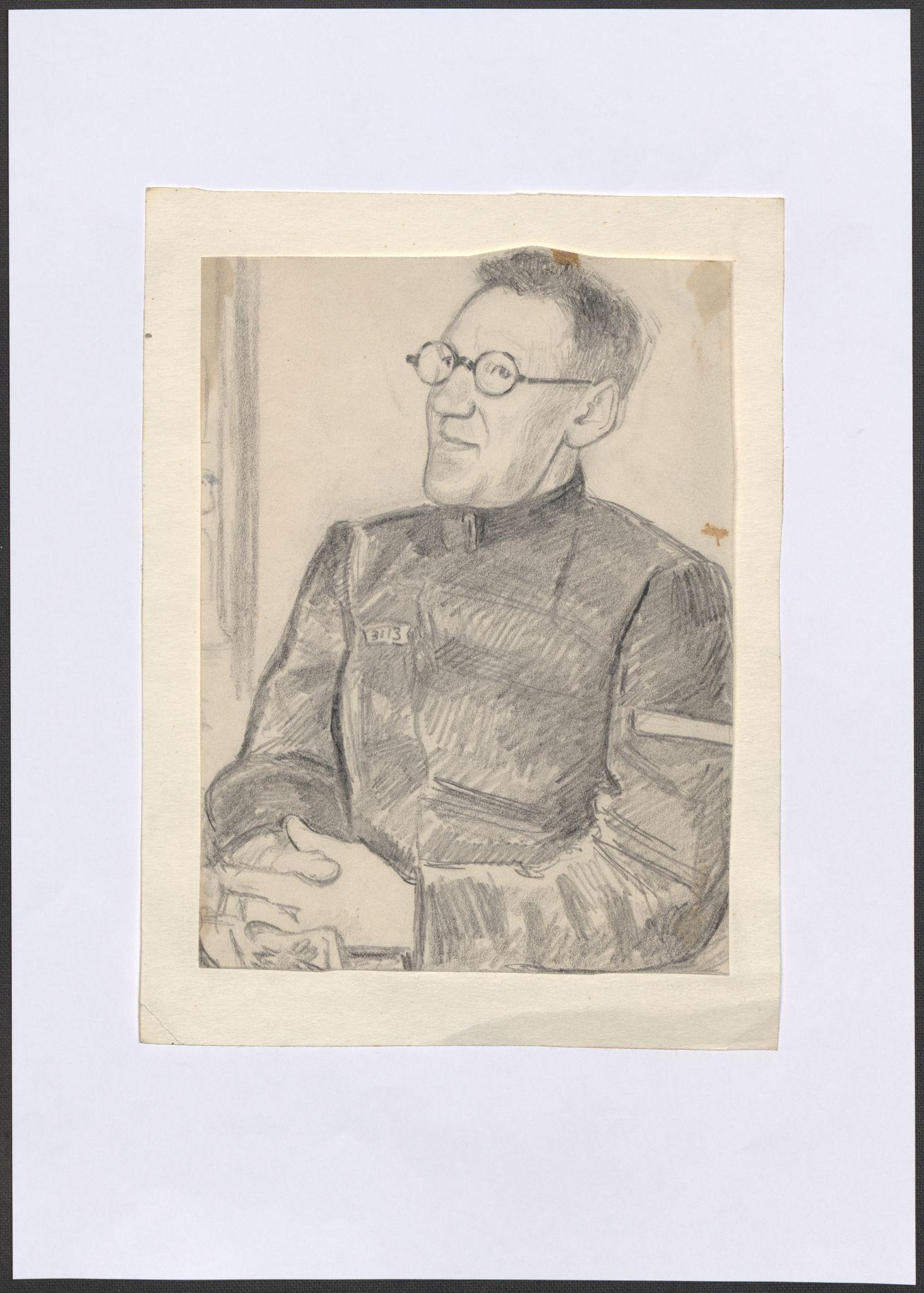 RA, Grøgaard, Joachim, F/L0002: Tegninger og tekster, 1942-1945, s. 46