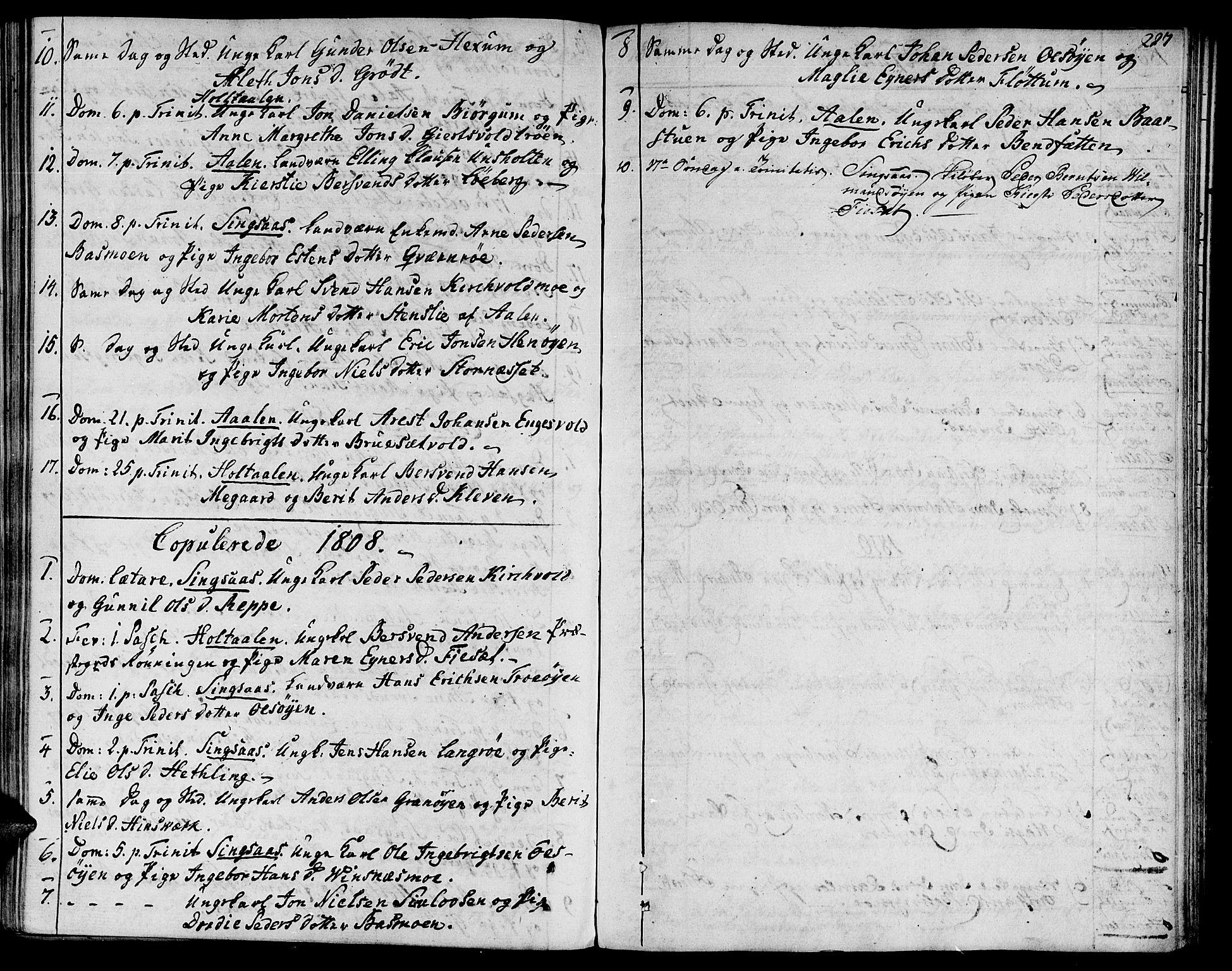 SAT, Ministerialprotokoller, klokkerbøker og fødselsregistre - Sør-Trøndelag, 685/L0953: Ministerialbok nr. 685A02, 1805-1816, s. 227