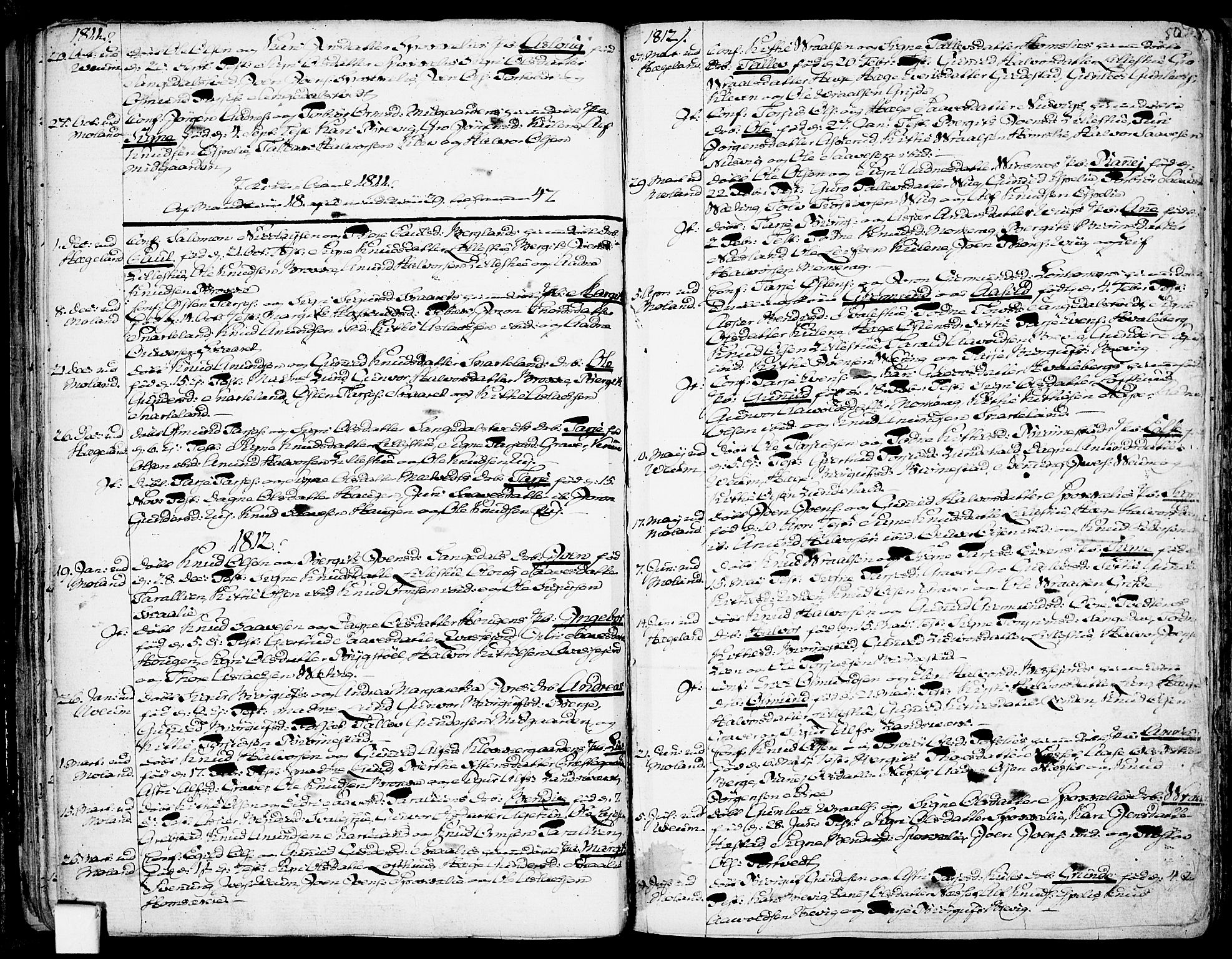 SAKO, Fyresdal kirkebøker, F/Fa/L0002: Ministerialbok nr. I 2, 1769-1814, s. 50