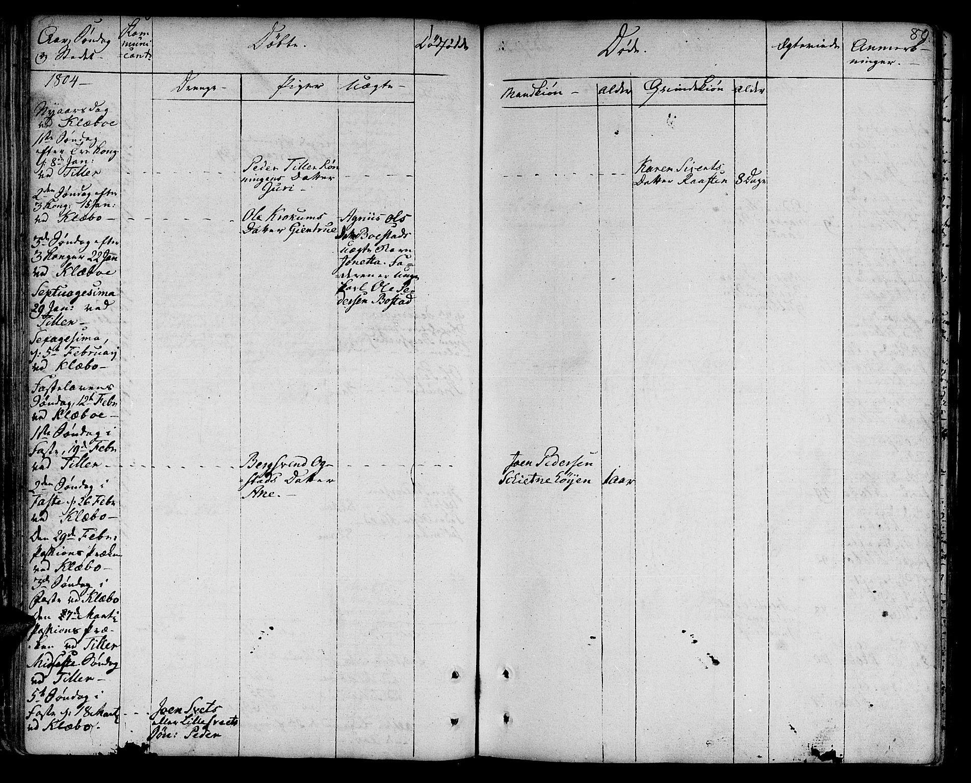 SAT, Ministerialprotokoller, klokkerbøker og fødselsregistre - Sør-Trøndelag, 618/L0438: Ministerialbok nr. 618A03, 1783-1815, s. 80