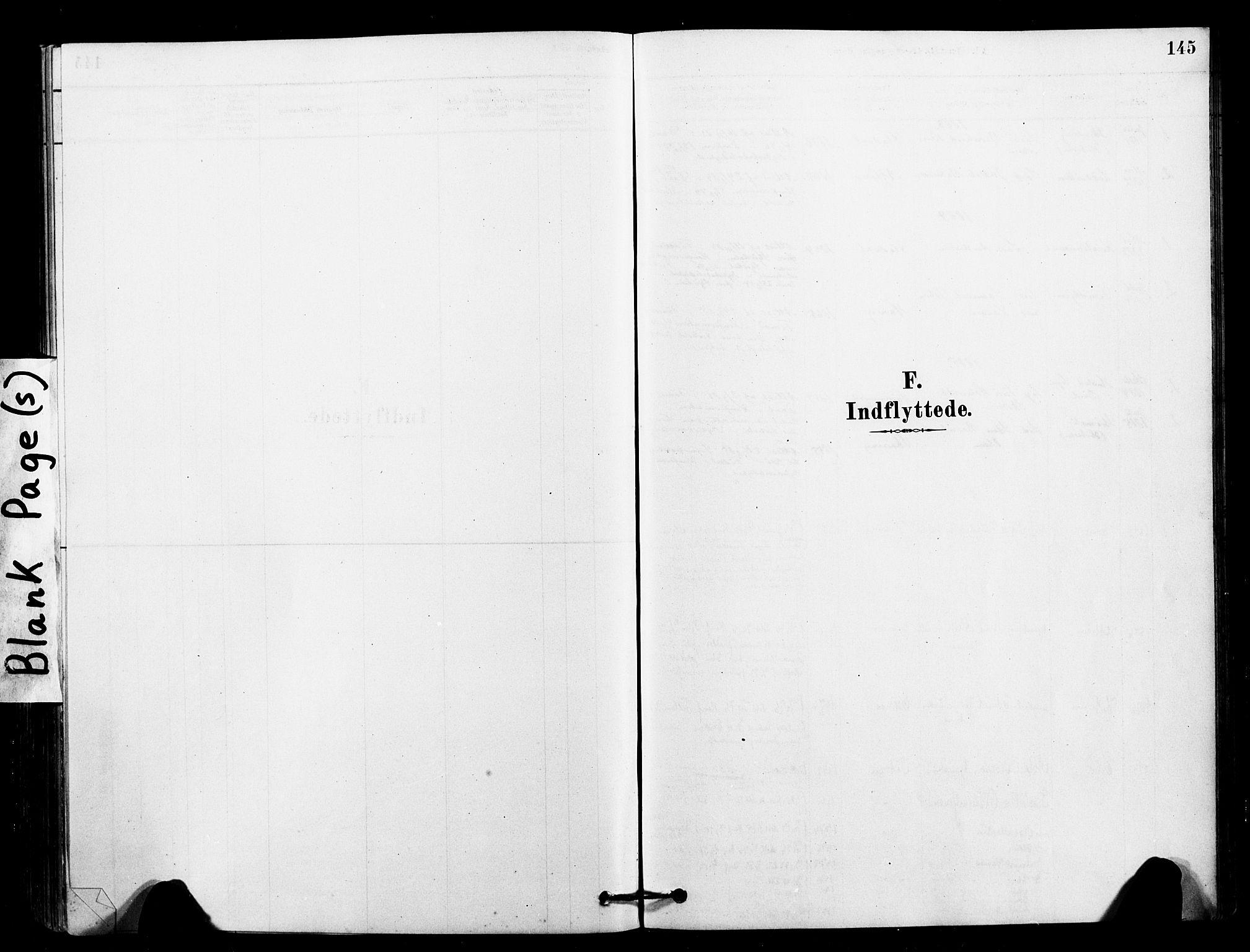 SAT, Ministerialprotokoller, klokkerbøker og fødselsregistre - Sør-Trøndelag, 641/L0595: Ministerialbok nr. 641A01, 1882-1897, s. 145