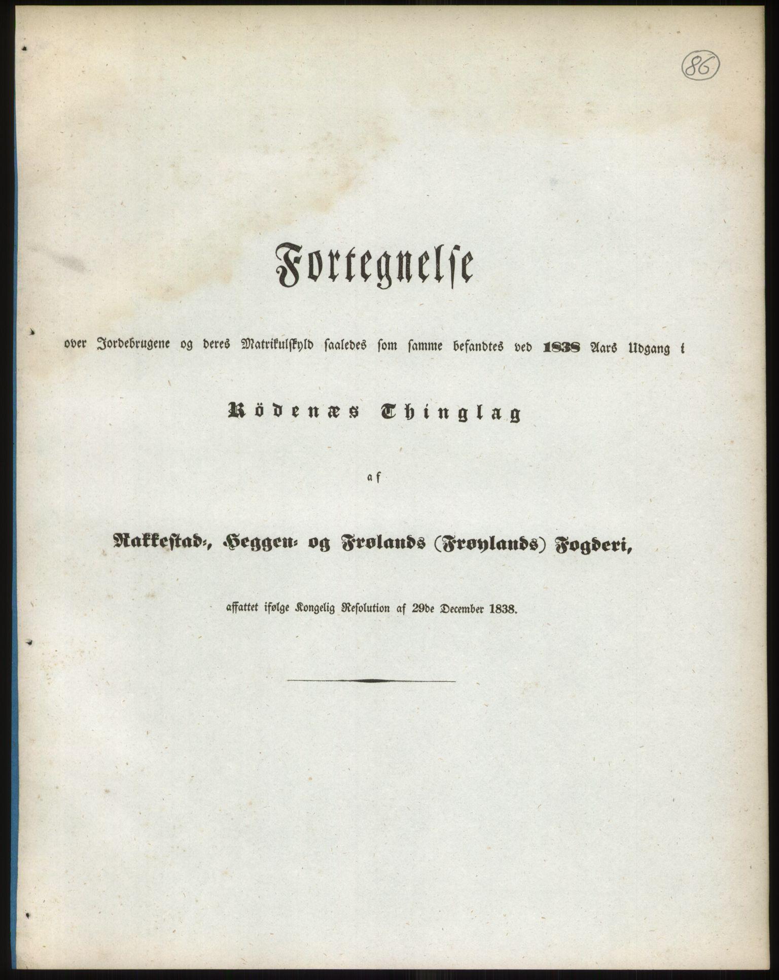 RA, 1838-matrikkelen (publikasjon)*, 1838, s. 86