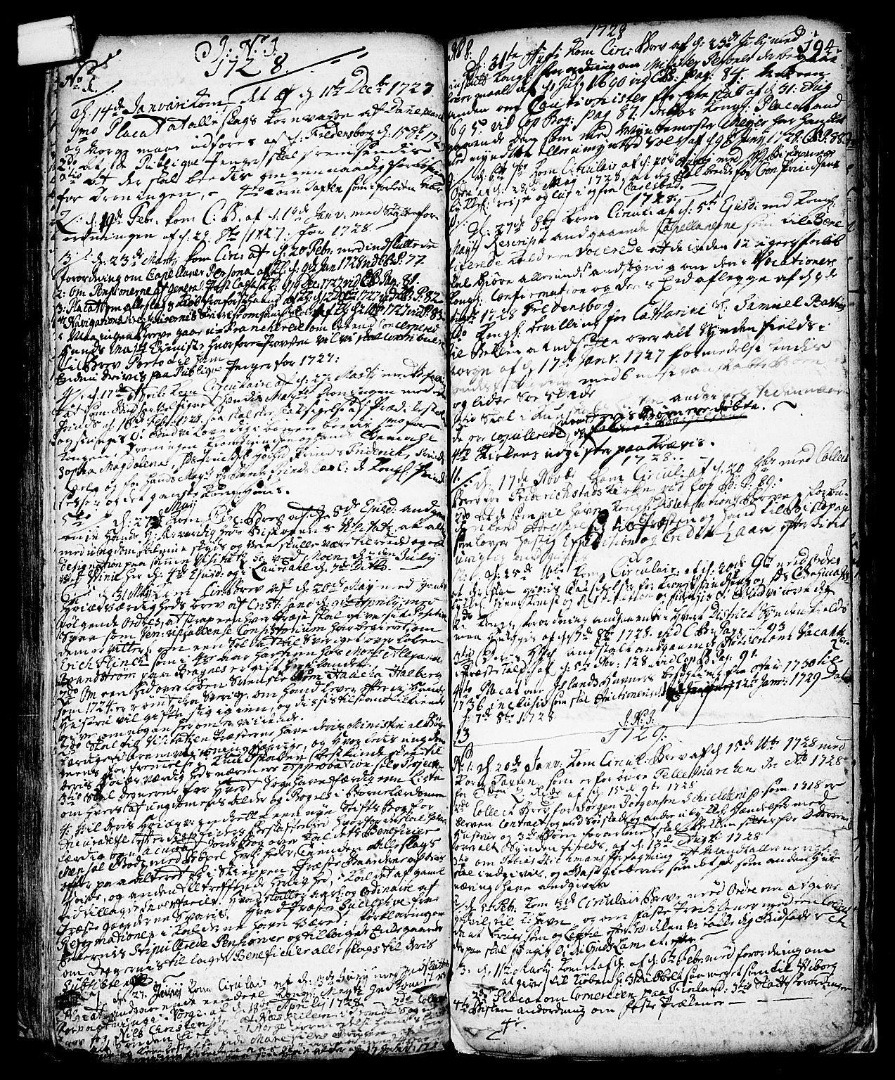 SAKO, Vinje kirkebøker, F/Fa/L0001: Ministerialbok nr. I 1, 1717-1766, s. 194