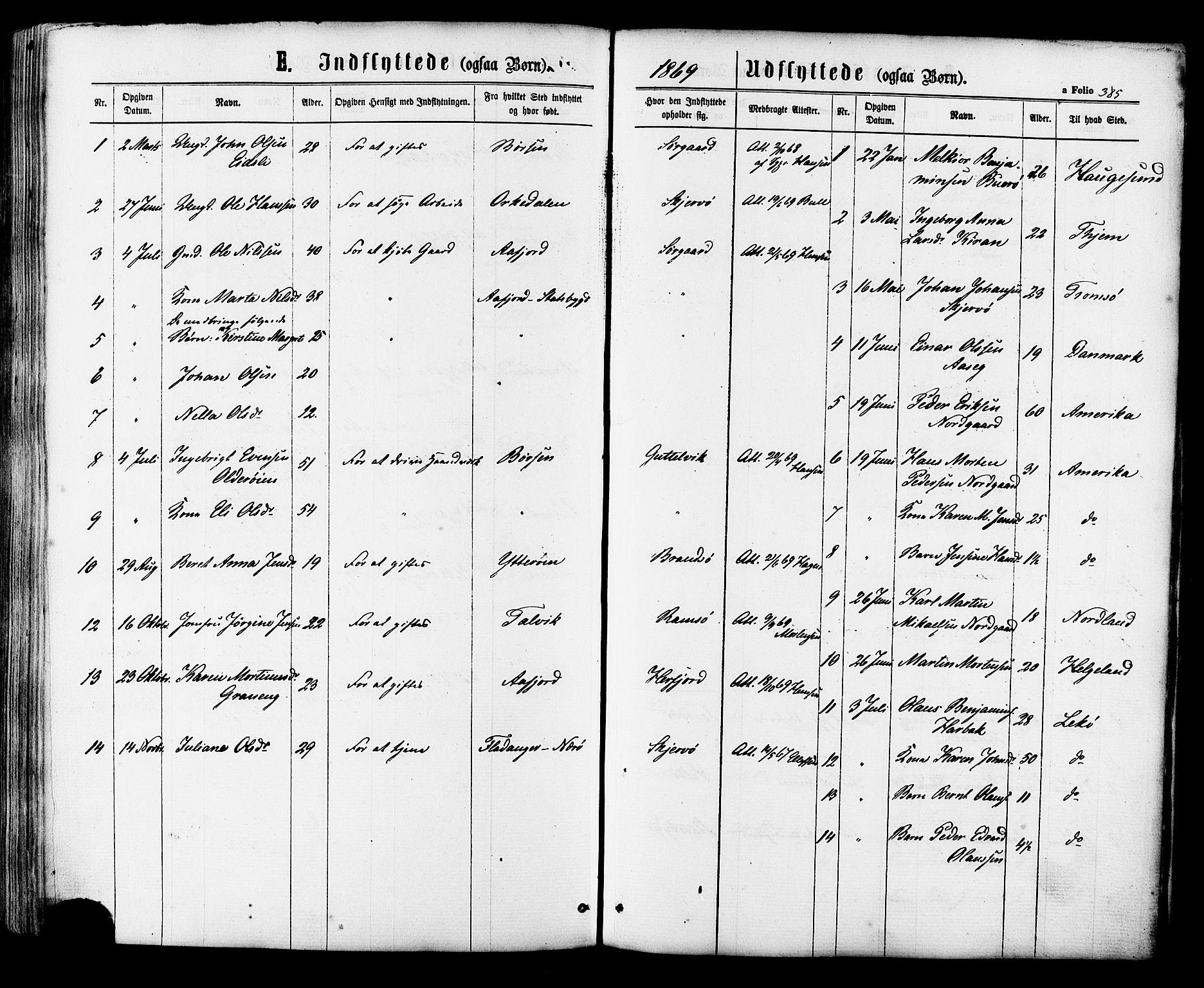 SAT, Ministerialprotokoller, klokkerbøker og fødselsregistre - Sør-Trøndelag, 657/L0706: Ministerialbok nr. 657A07, 1867-1878, s. 385