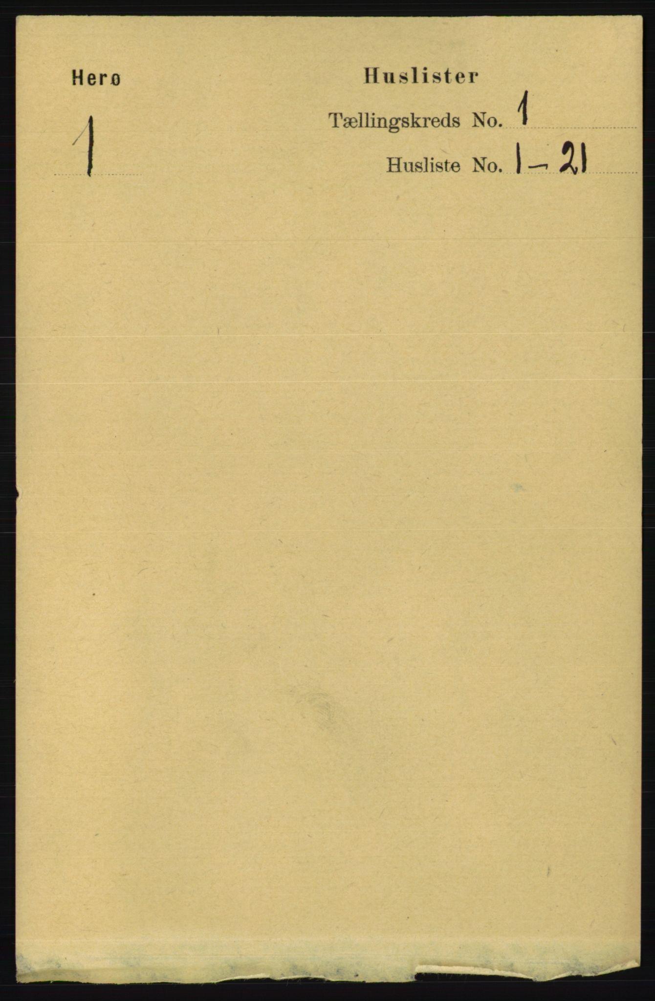 RA, Folketelling 1891 for 1818 Herøy herred, 1891, s. 30