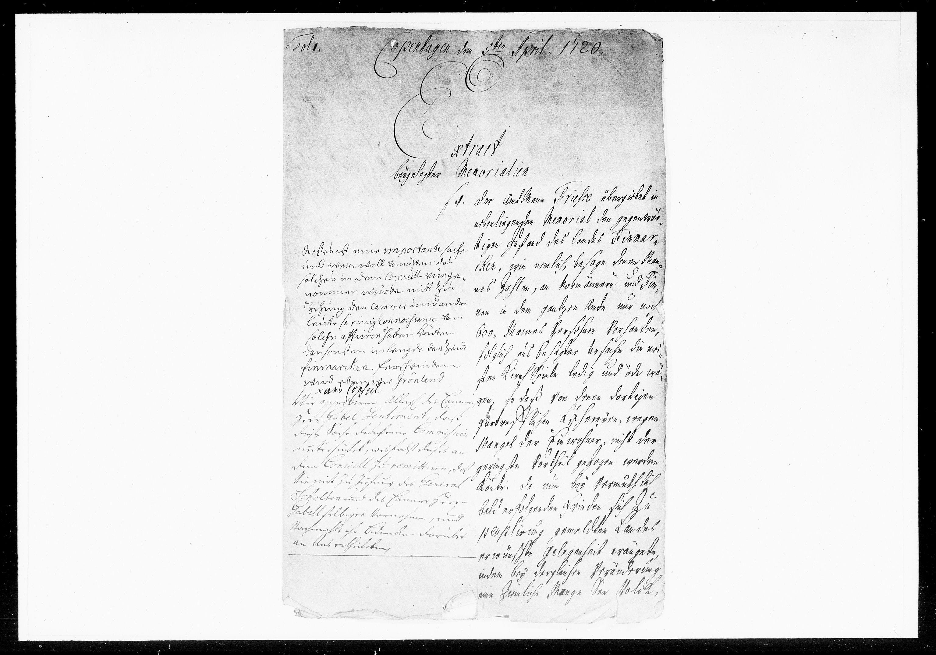 DRA, Krigskollegiet, Krigskancelliet, -/1057-1060: Refererede sager, 1720, s. 97