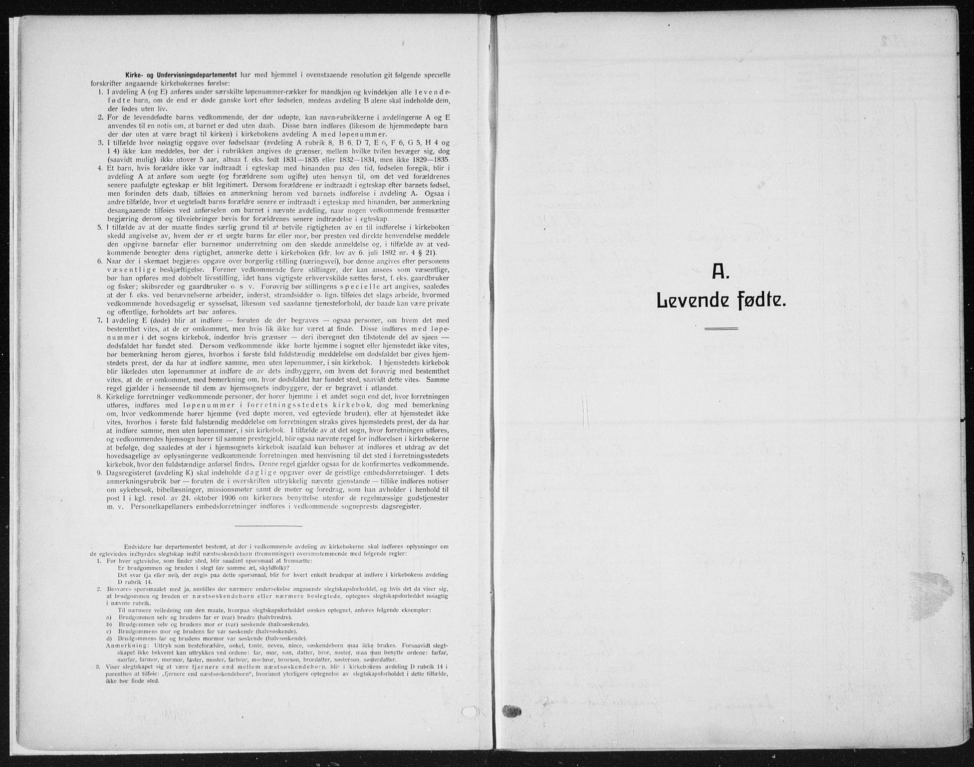 SAH, Vardal prestekontor, H/Ha/Haa/L0014: Ministerialbok nr. 14, 1912-1922