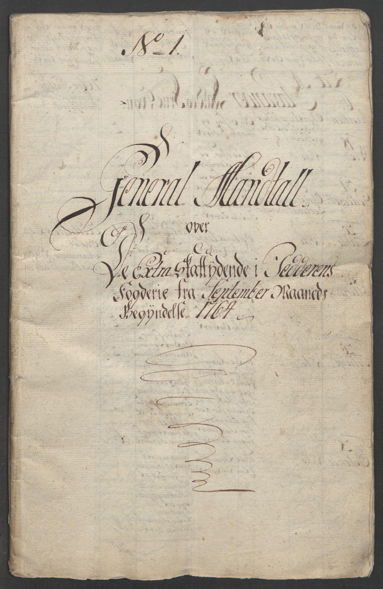 RA, Rentekammeret inntil 1814, Reviderte regnskaper, Fogderegnskap, R46/L2836: Ekstraskatten Jæren og Dalane, 1764-1766, s. 14