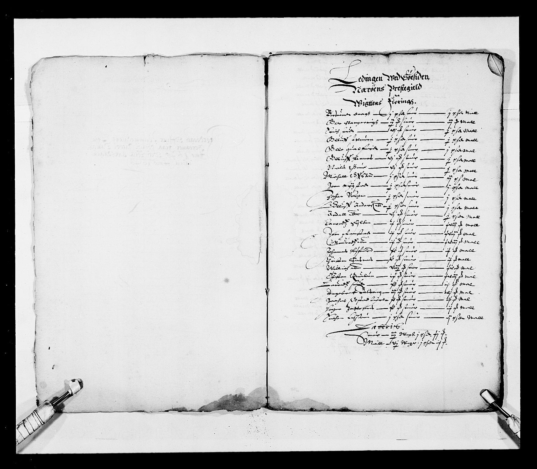RA, Stattholderembetet 1572-1771, Ek/L0028: Jordebøker 1633-1658:, 1645-1646, s. 82