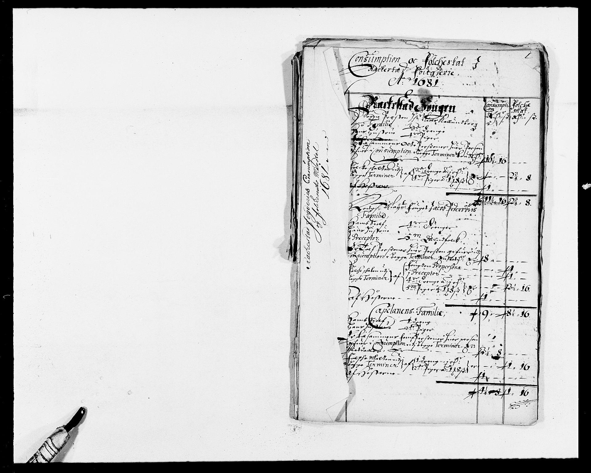 RA, Rentekammeret inntil 1814, Reviderte regnskaper, Fogderegnskap, R05/L0272: Fogderegnskap Rakkestad, 1680-1681, s. 381