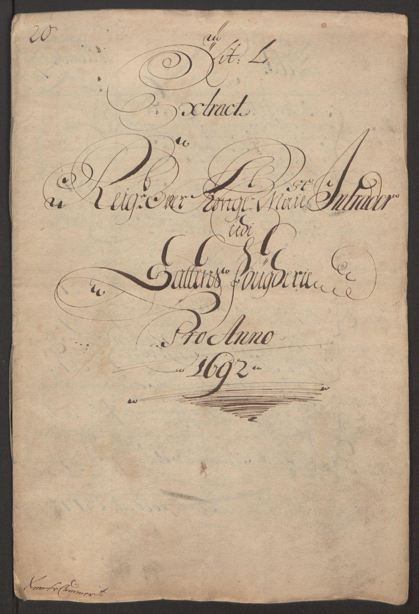 RA, Rentekammeret inntil 1814, Reviderte regnskaper, Fogderegnskap, R66/L4577: Fogderegnskap Salten, 1691-1693, s. 129